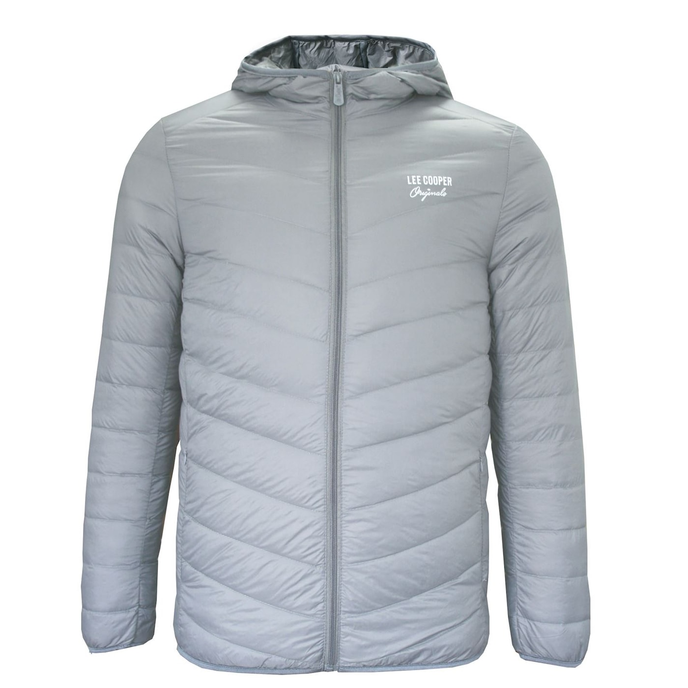 Lee Cooper Xlite Hooded Down pánská bunda