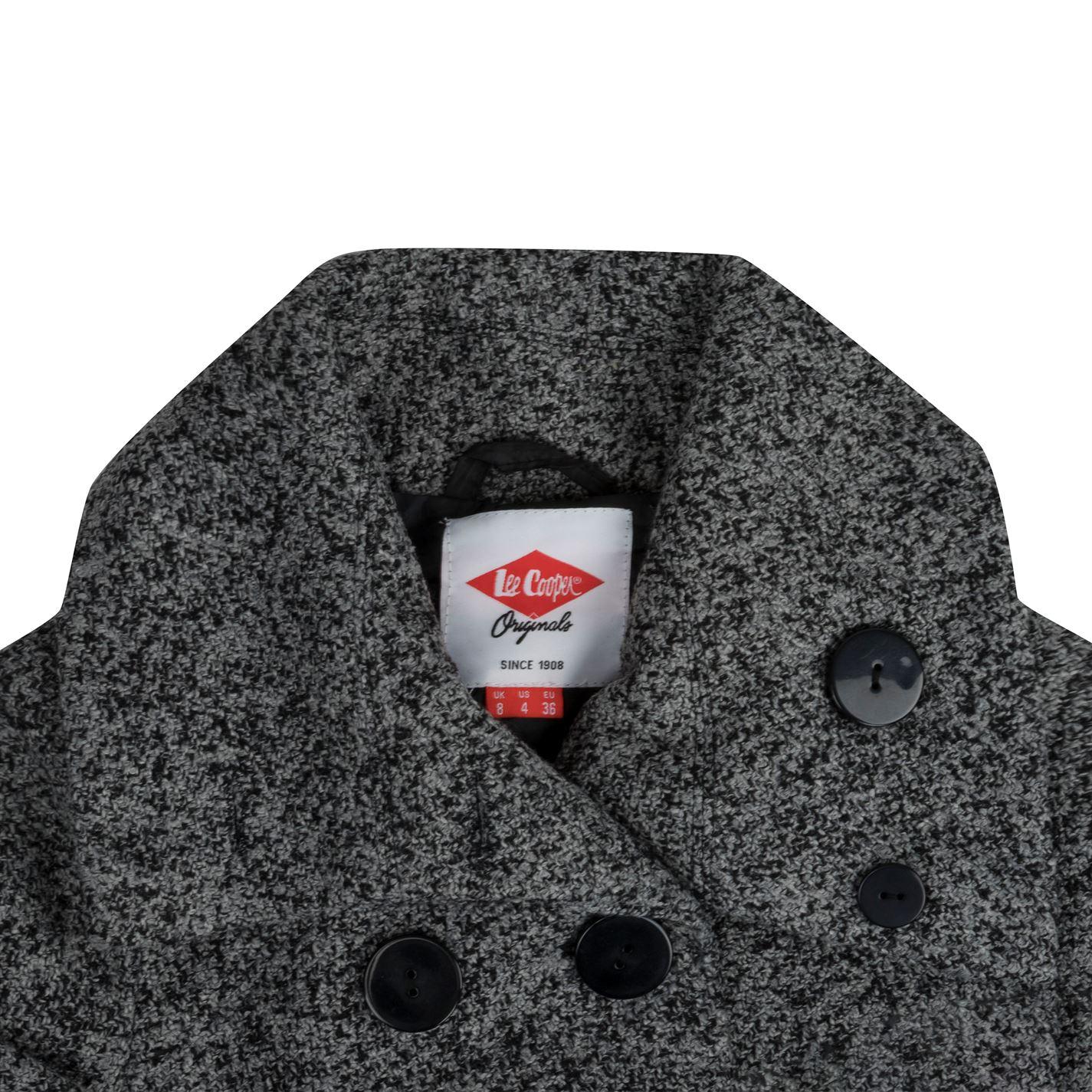 Dámsky kabát Lee Cooper Button