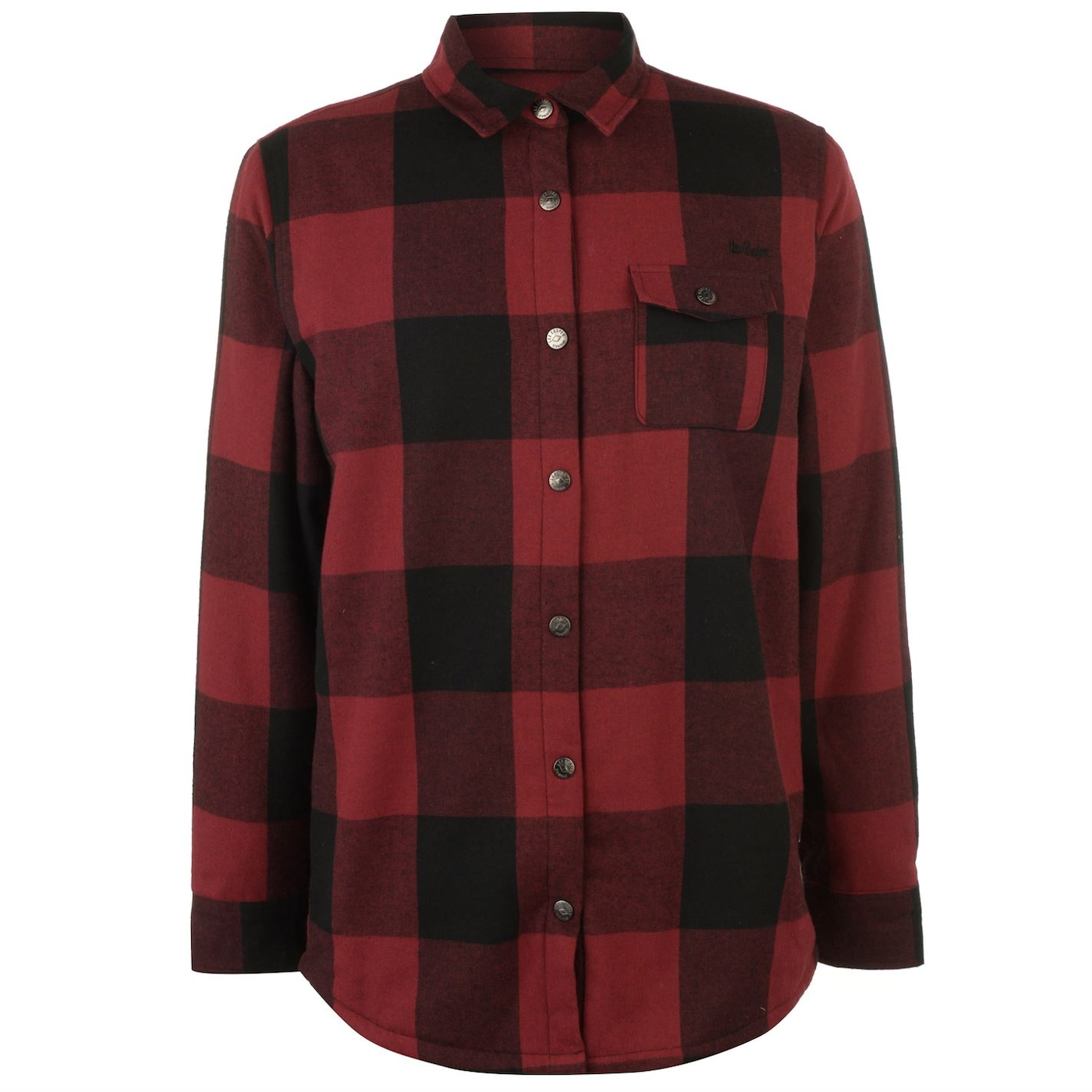 Lee Cooper Lined Flannel Shirt Mens