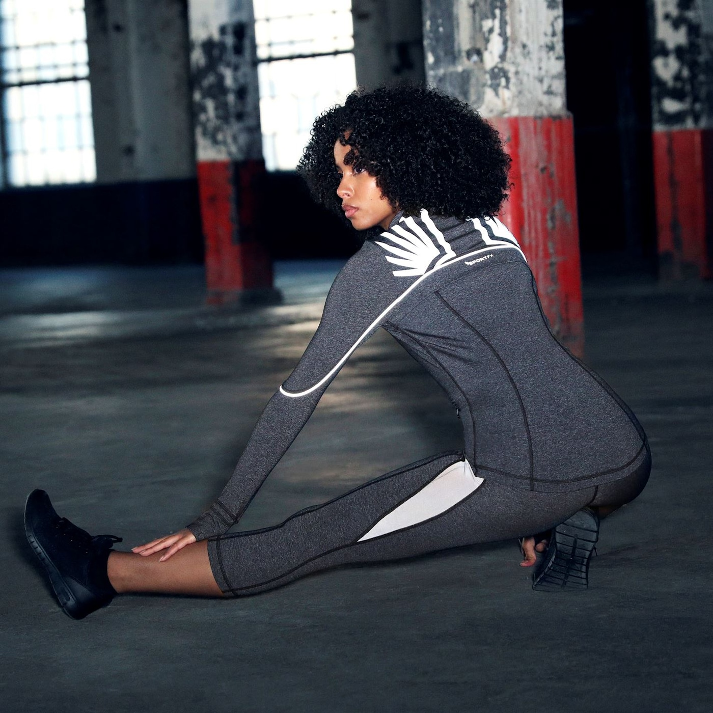 SportFX Relective Leggings Ladies