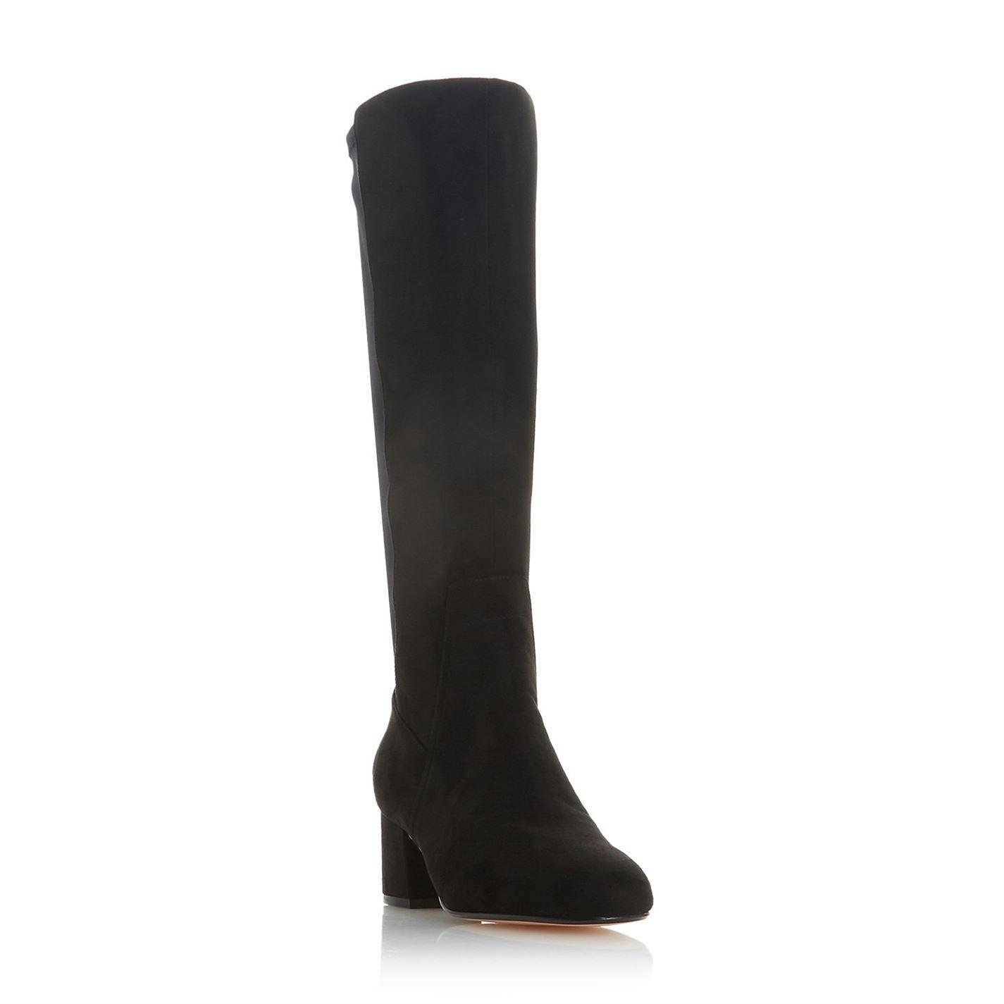 Linea Sash Block Heel Zip Boots