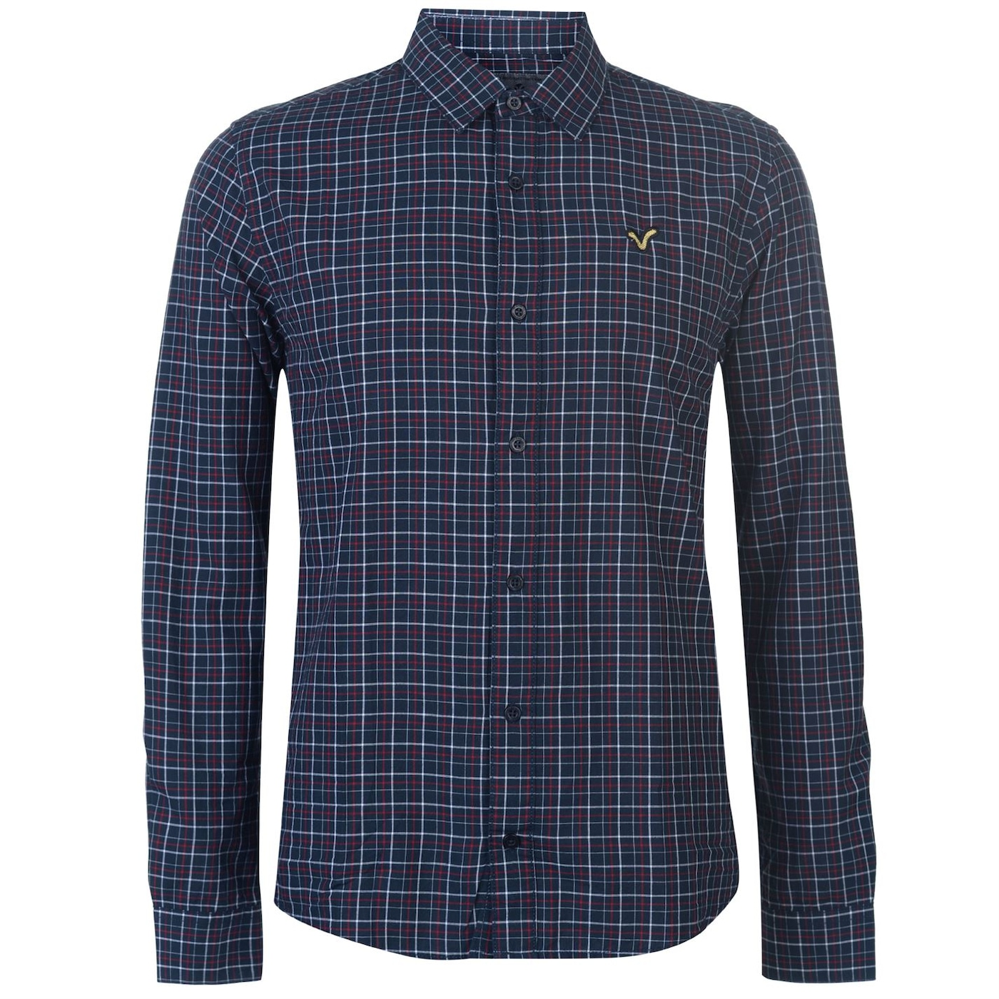 VOI Jeans Check Long Sleeve Shirt pánske