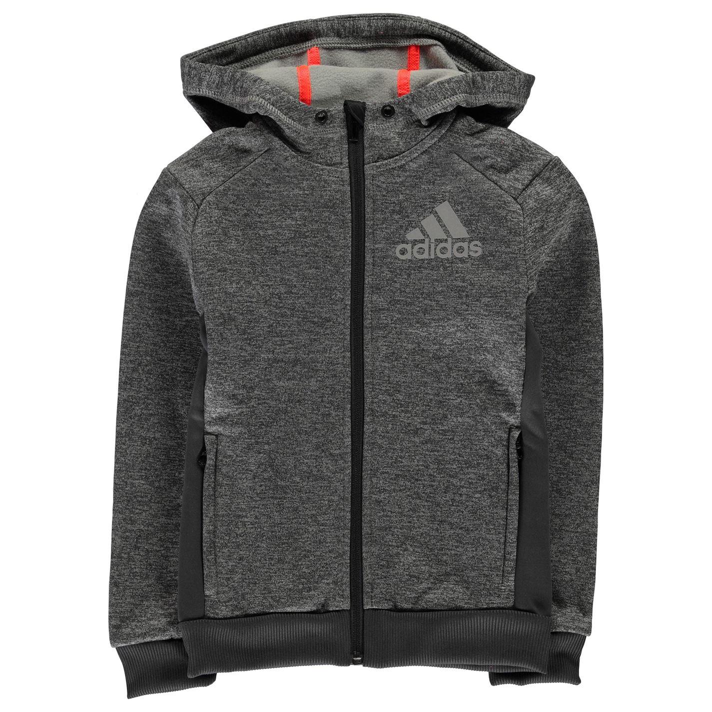 Adidas Prime Plus Full Zip Hoody Junior Boys