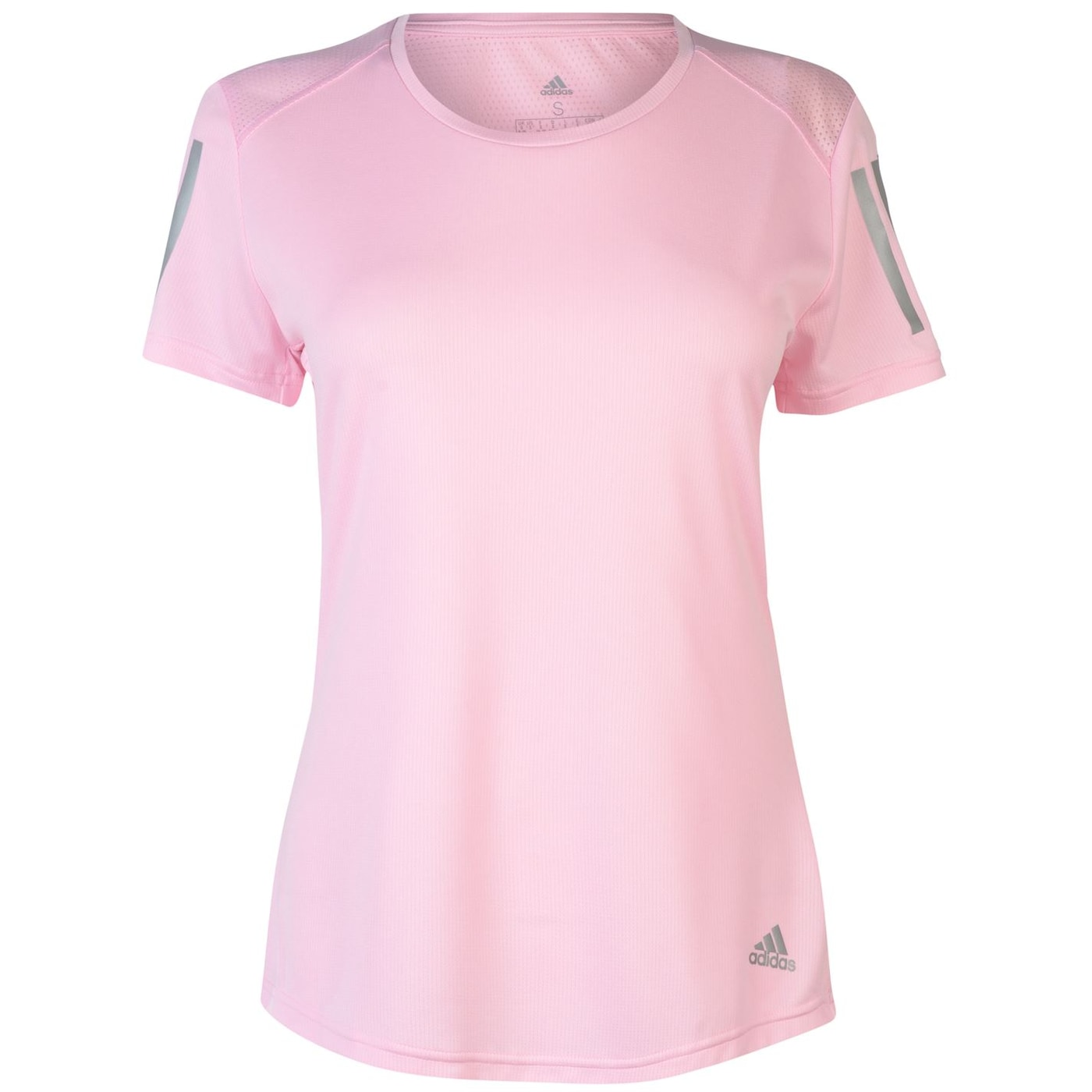 Adidas Short Sleeve Mesh T Shirt Ladies