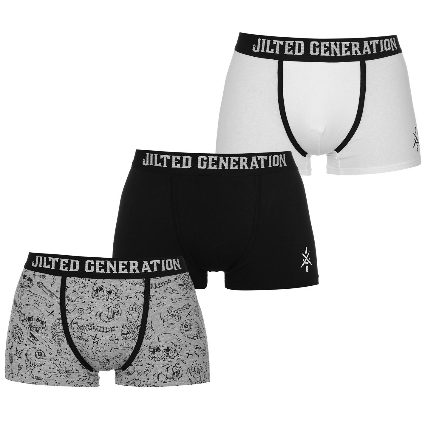 Jilted Generation 3 ks pánské boxerky