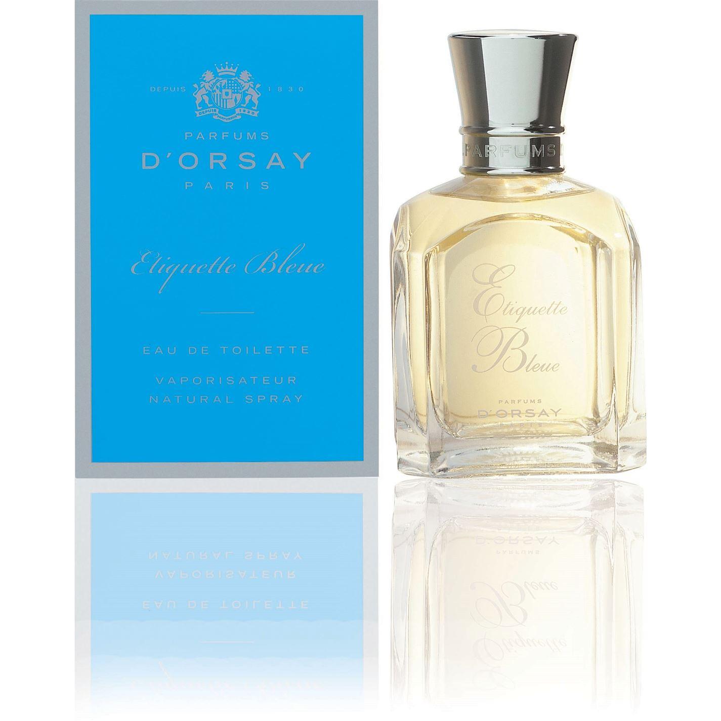 Parfums DOrsay Etiquette Bleue Eau de Toilette 50ml