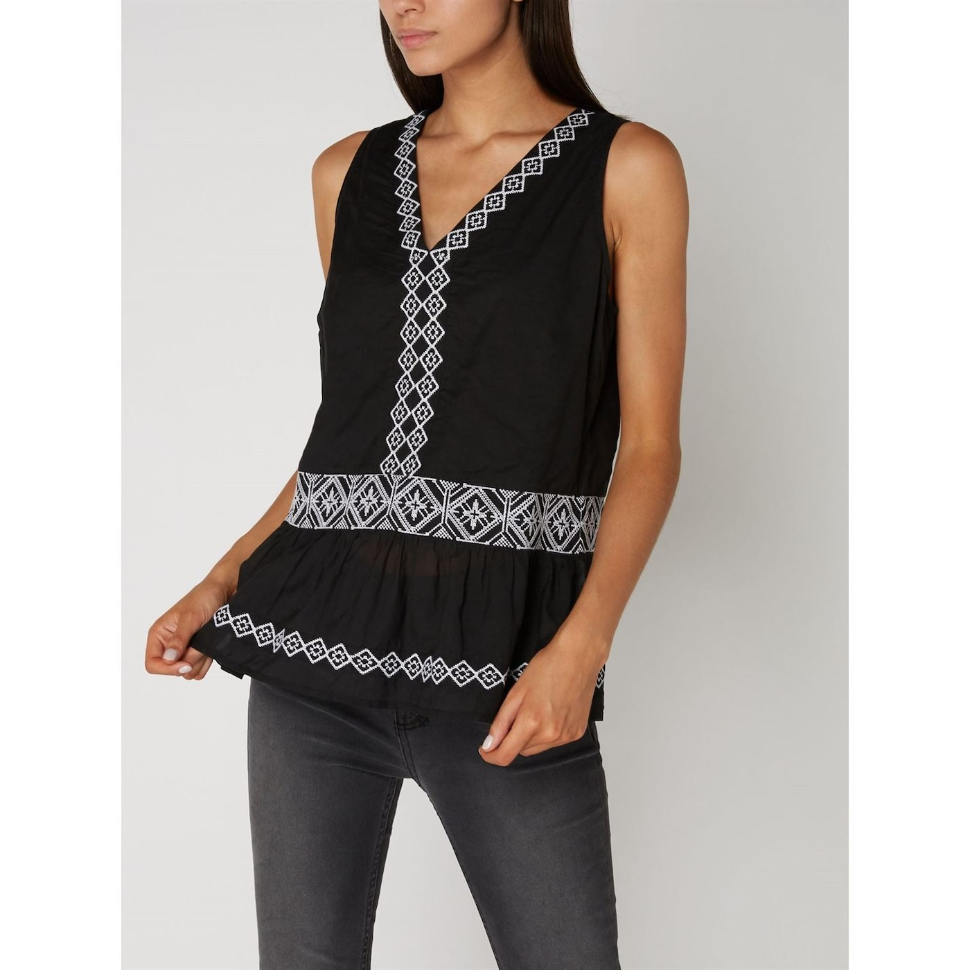 Label Lab Grace embroidered top