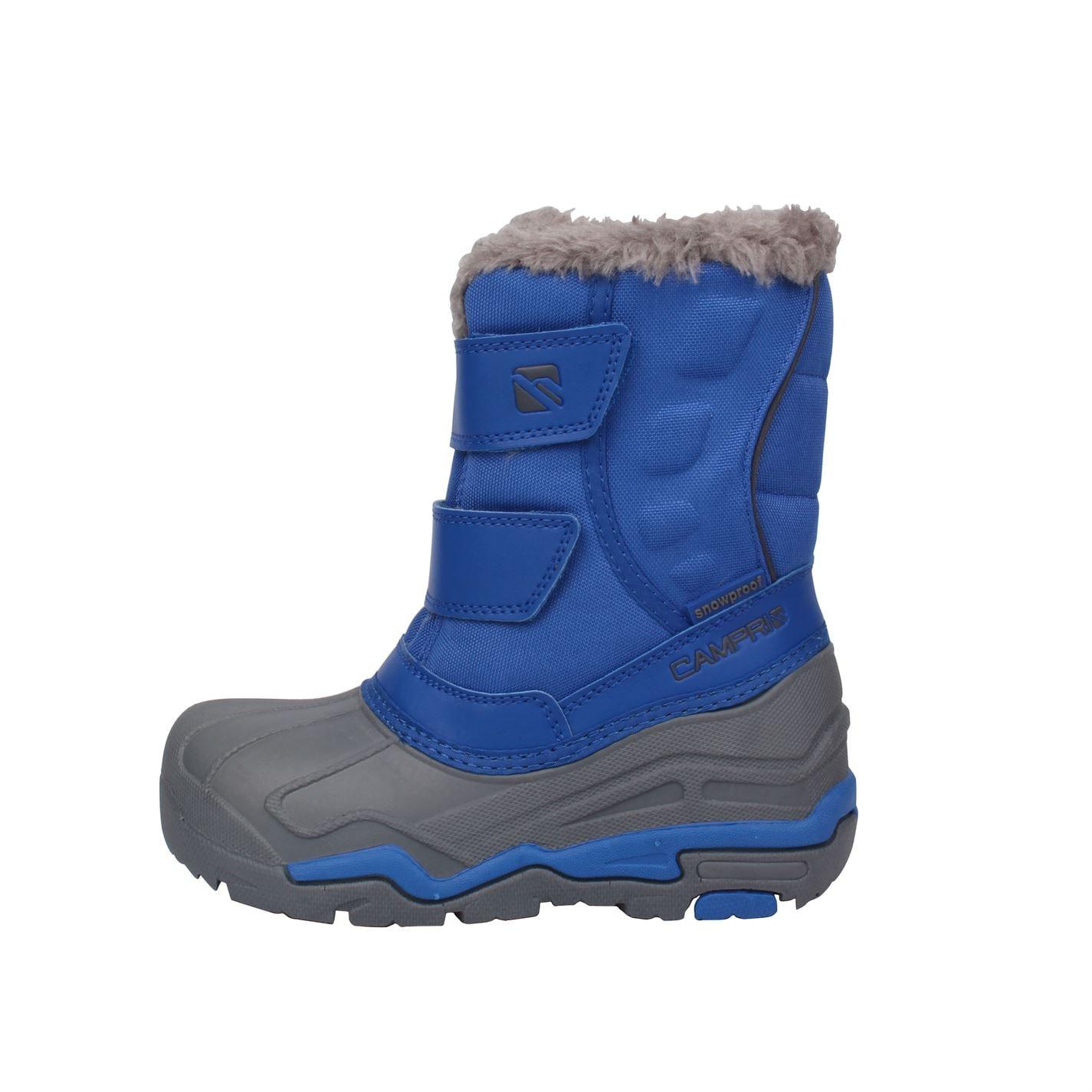 Campri Kids Childrens Snow Boots Shoes Winter Footwear Snowproof Fleece