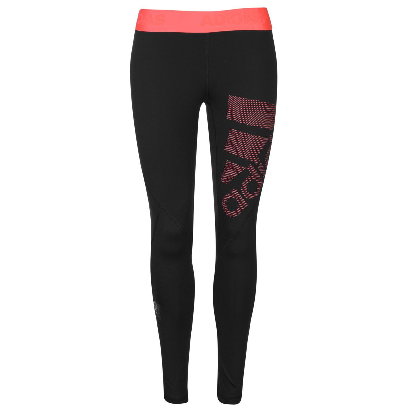 Adidas Womens Leg Logo Performance Tights