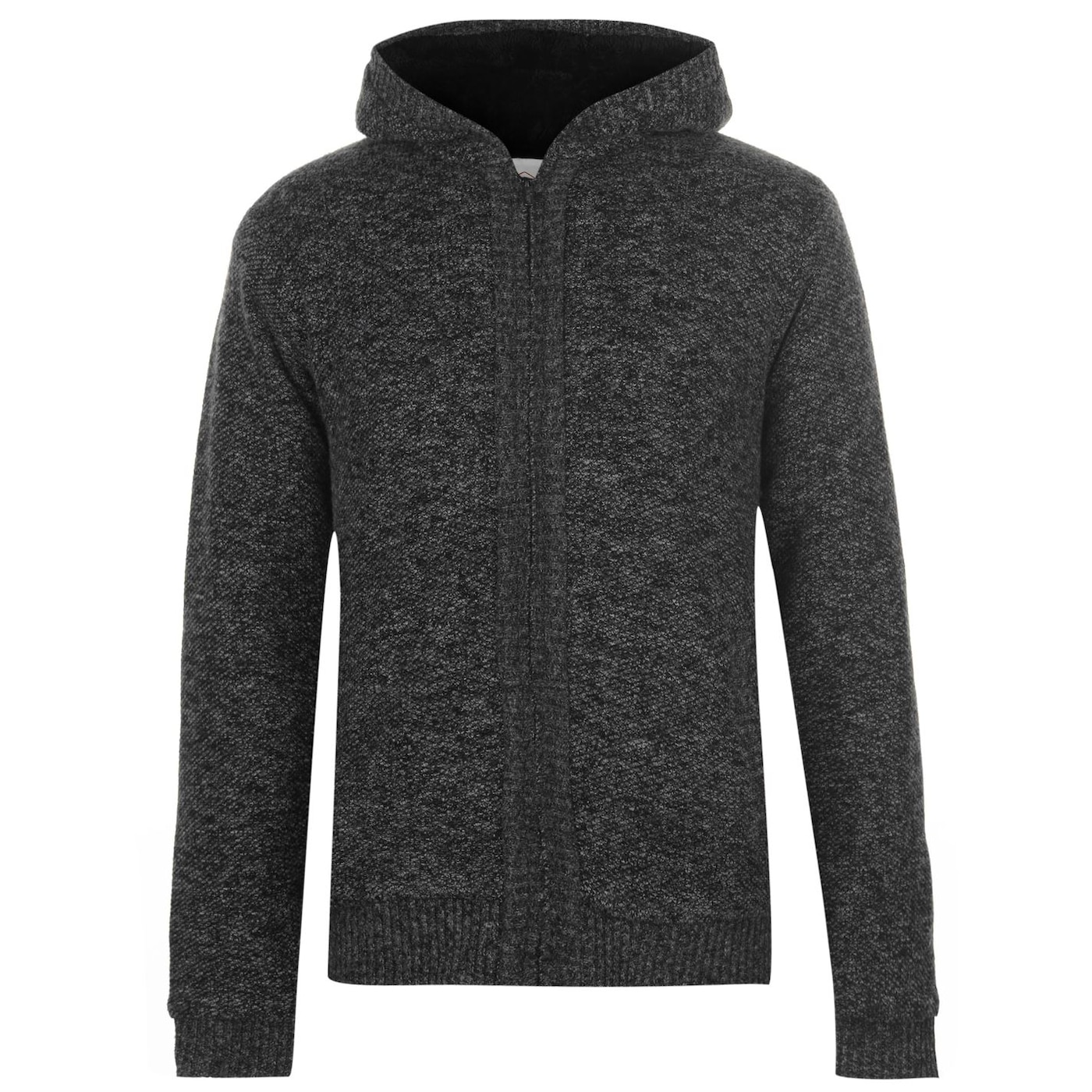 Lee Cooper Hooded Zip Knitted Jacket pánské