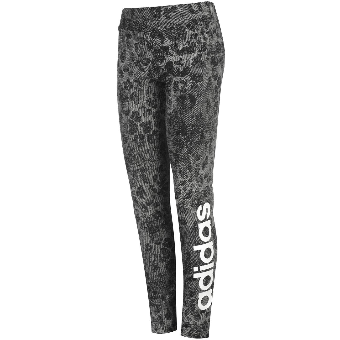 Adidas Linear AOP Leggings Junior Girls