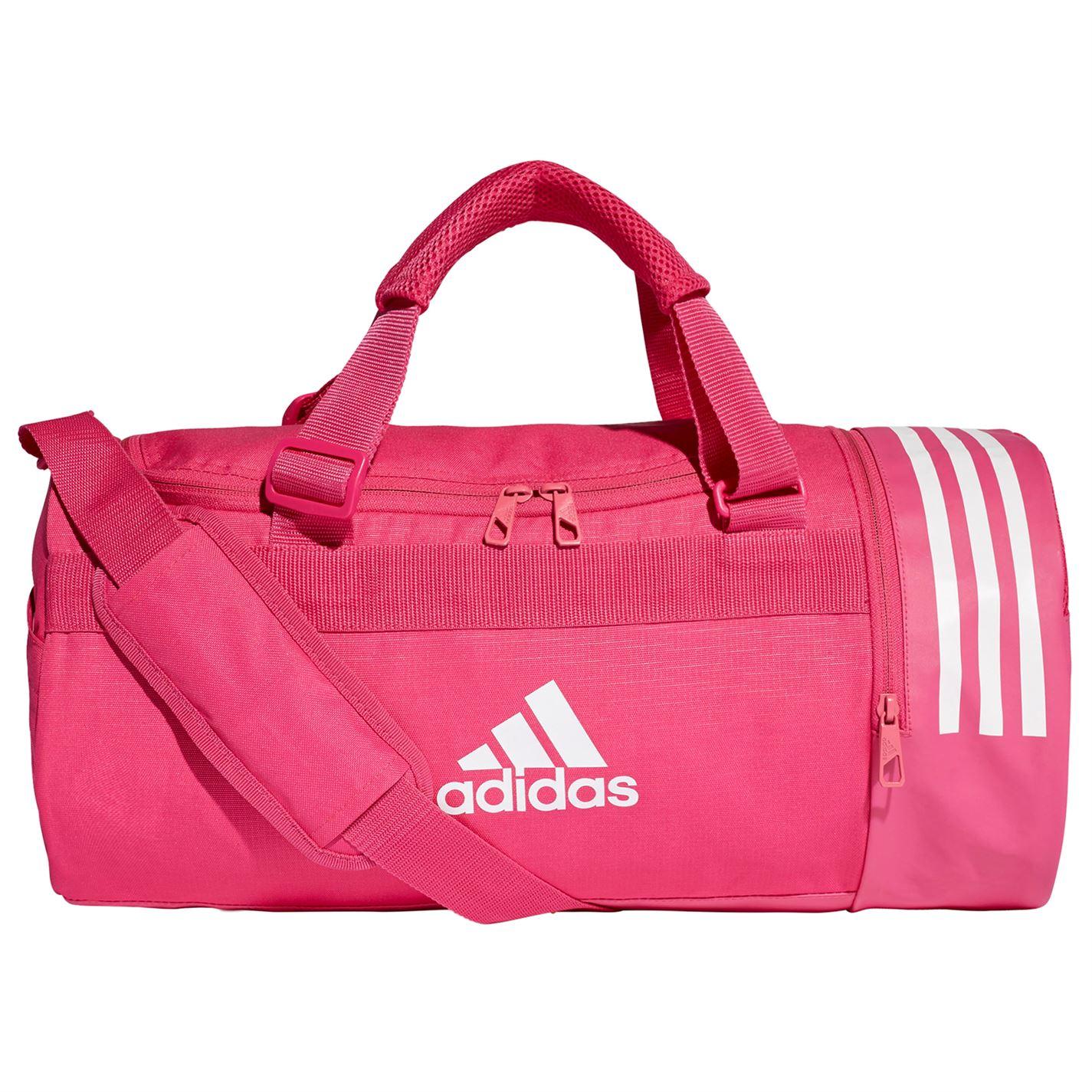 Adidas Convertible 3-Stripes Duffel Bag Small