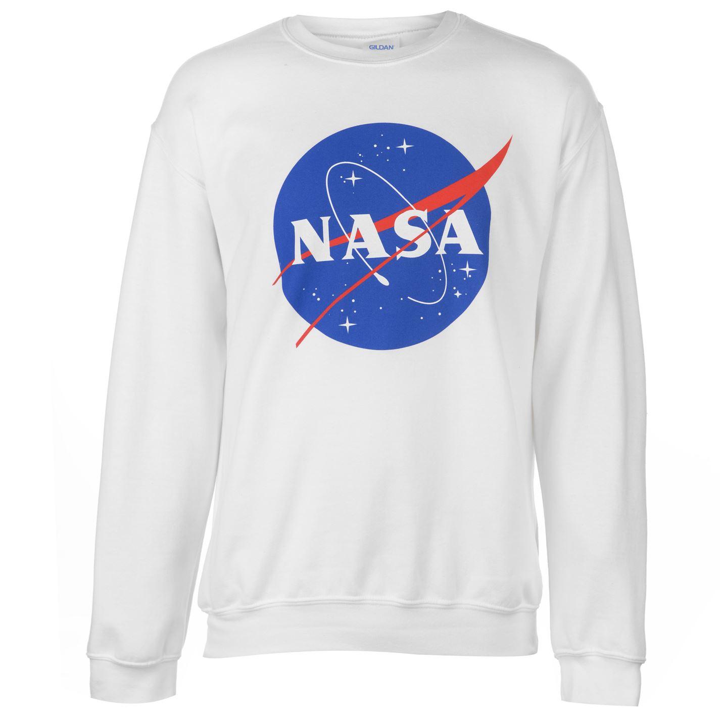 Official NASA Logo Sweatshirt Mens