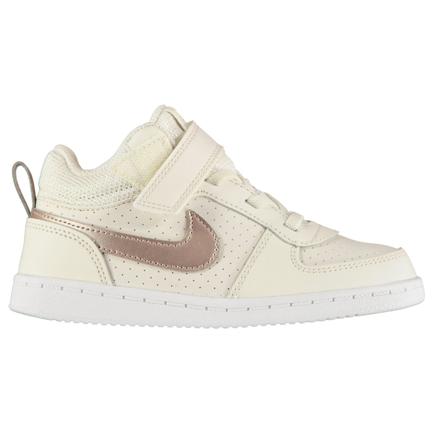 Nike Court Borough Mid Infant Girls Trainers