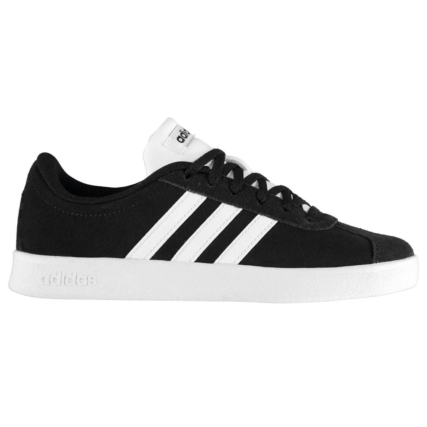 Adidas VL Court Suede Childrens Trainers
