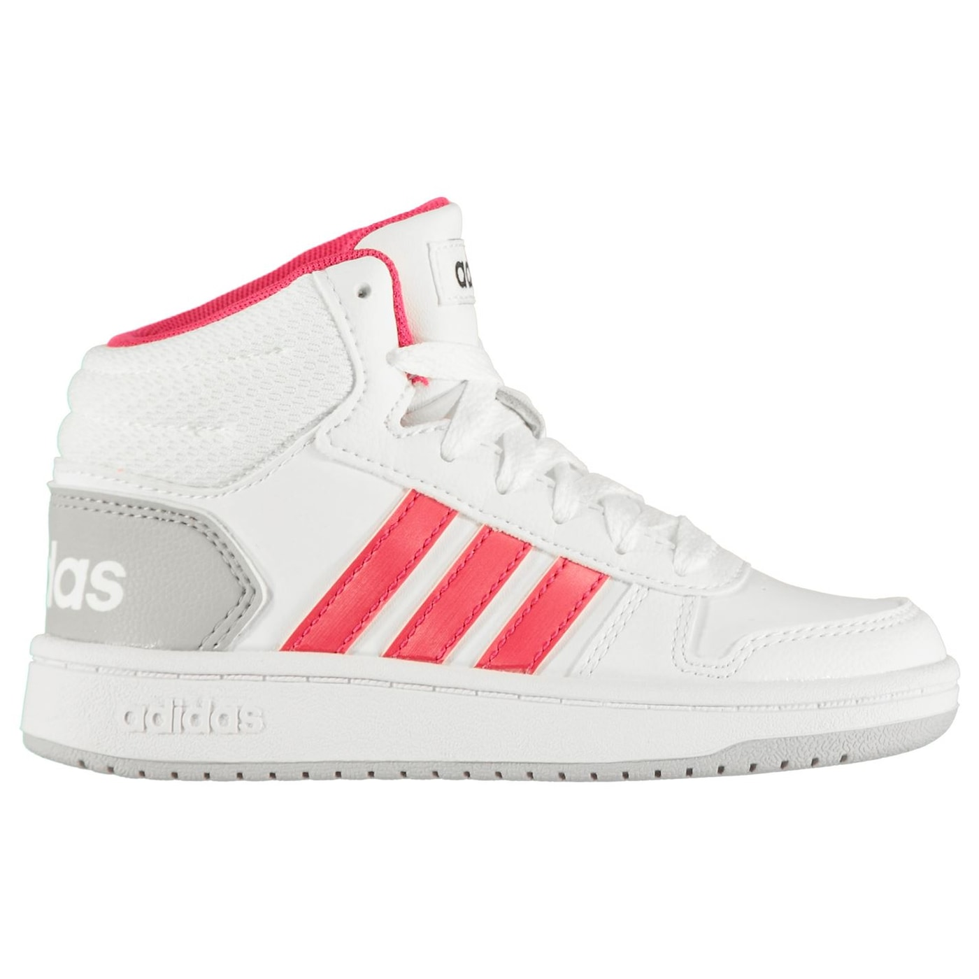 Adidas Hoops Mid 2 Child Girls Trainers
