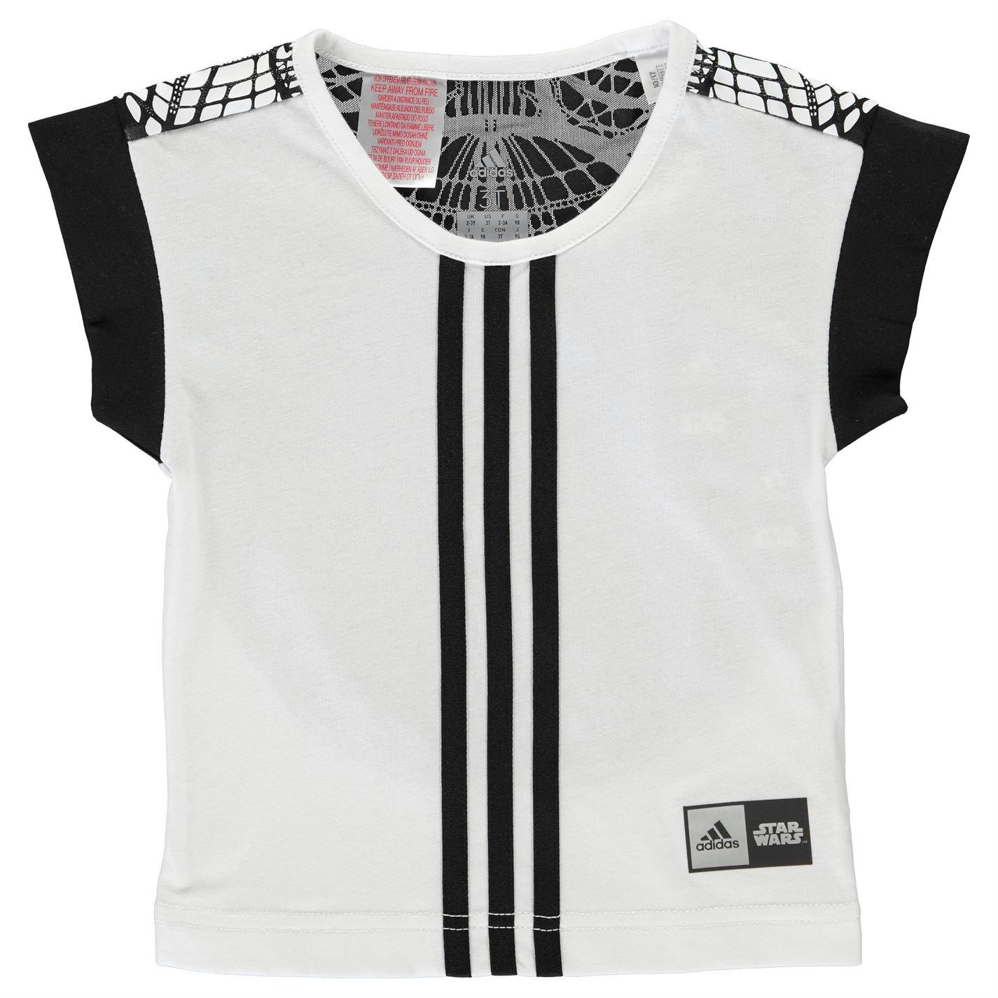 Adidas Star Wars T Shirt Child Girls