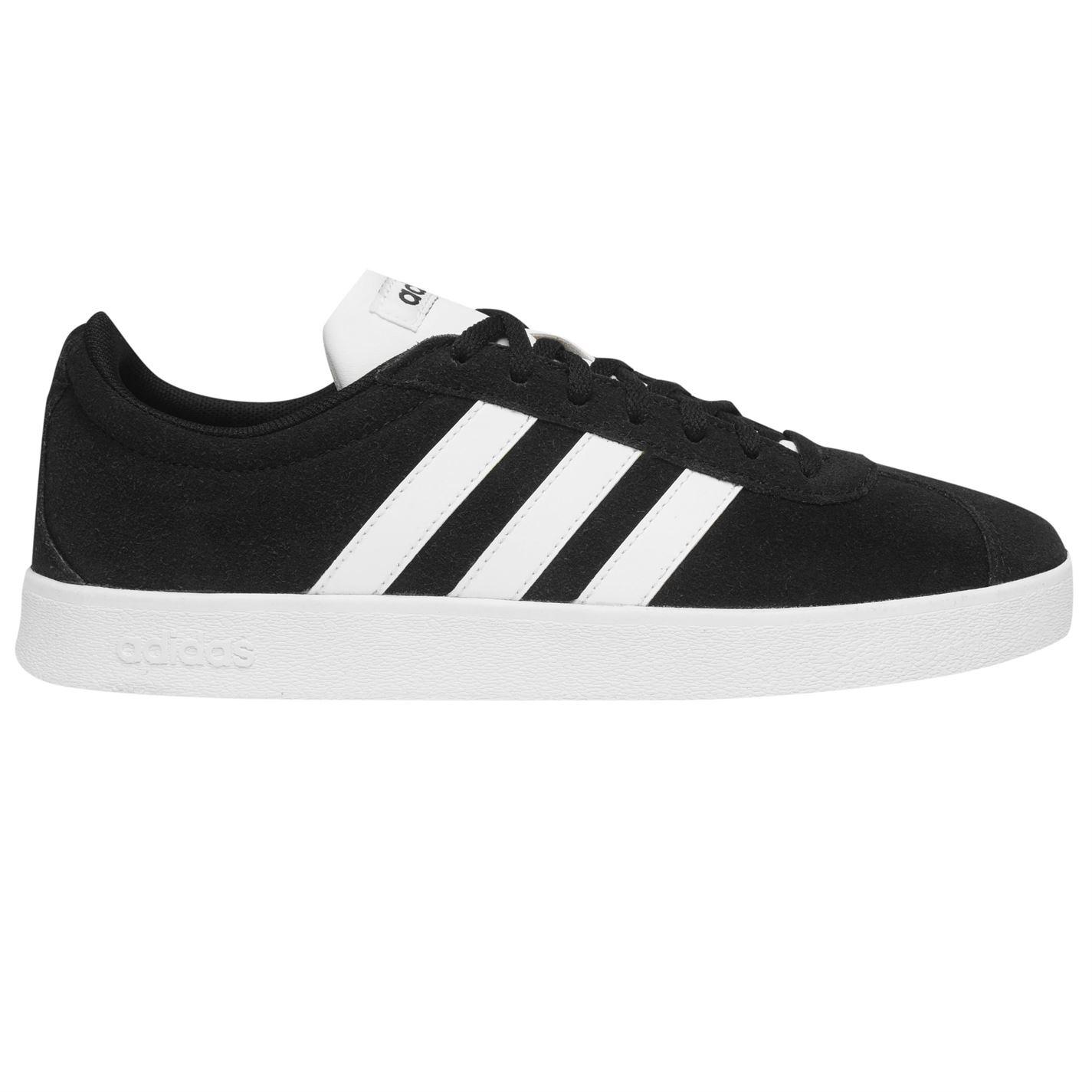 Adidas VL Court 2 Suede Shoes Mens