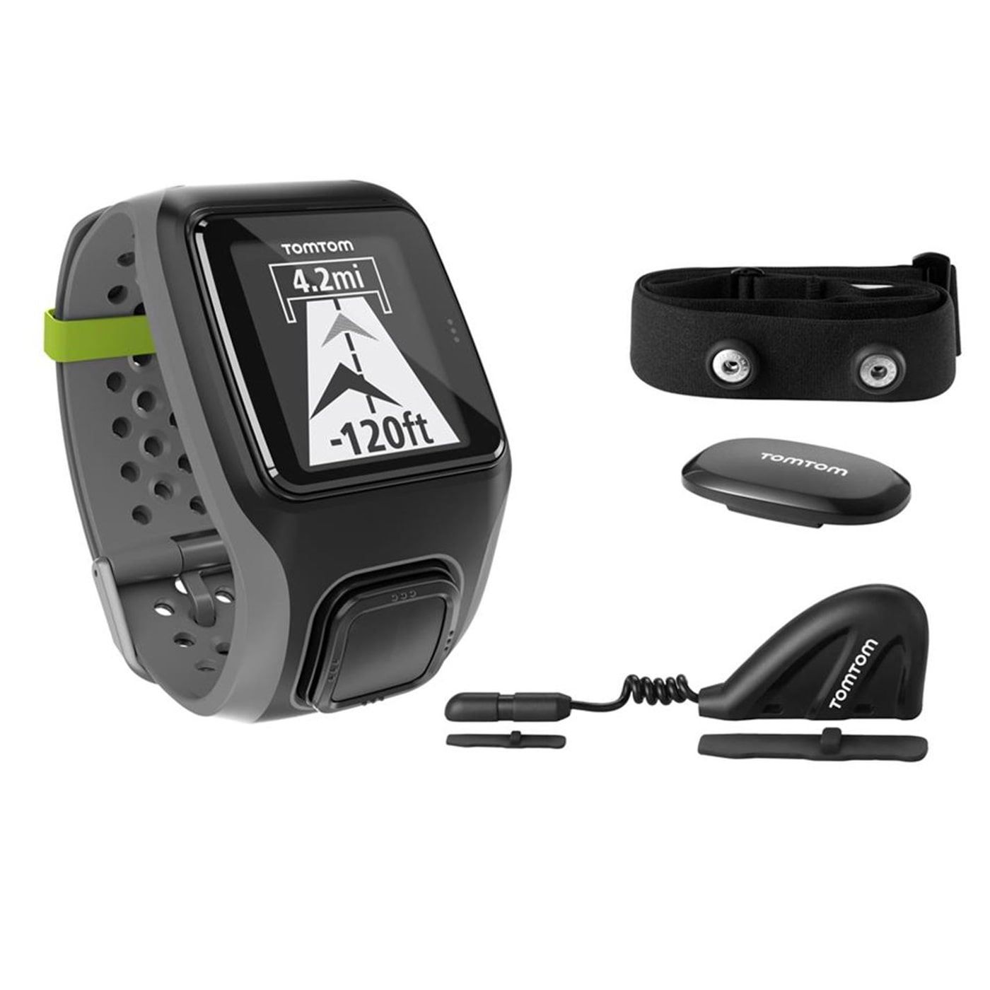 TOMTOM Multi Sport GPS Watch and HRM