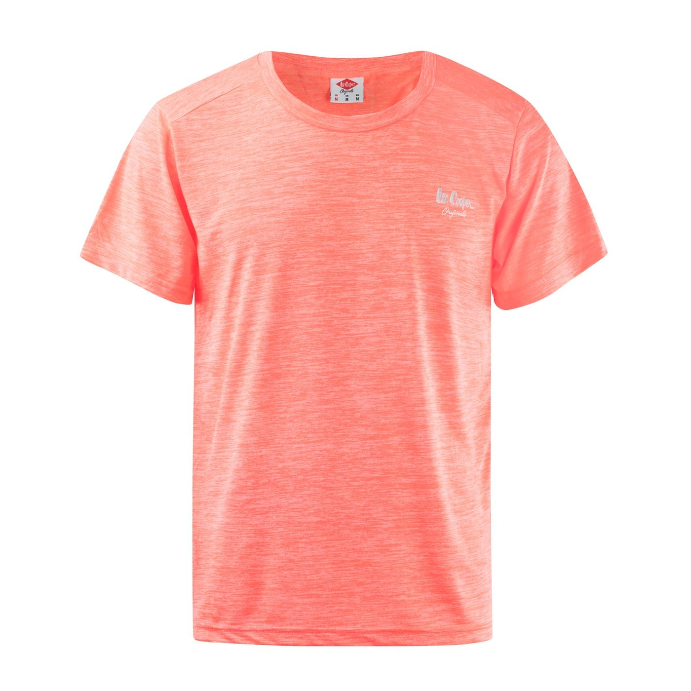 Lee Cooper Marl Stretch T Shirt Mens