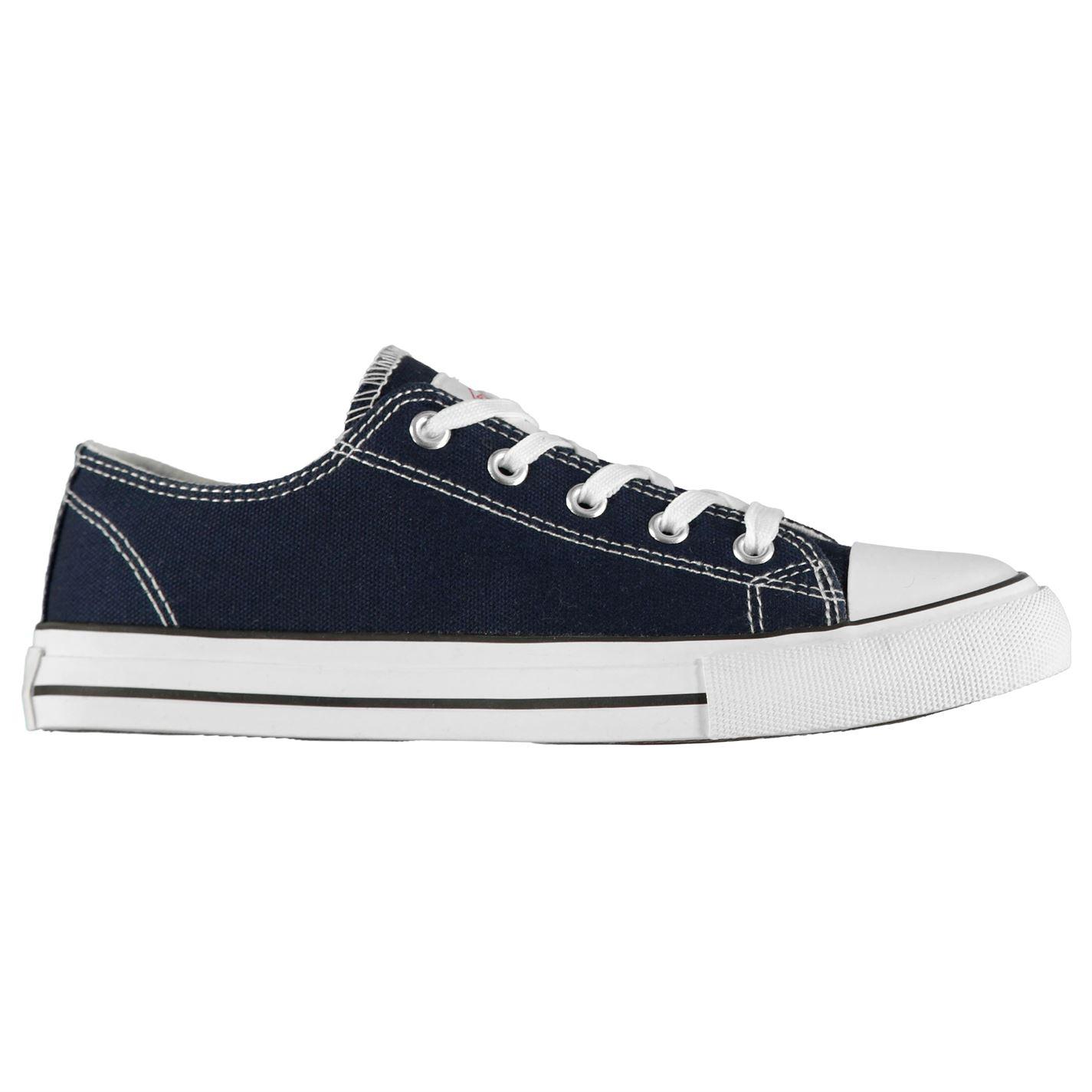 Lee Cooper Canvas Lo Shoes Unisex Juniors