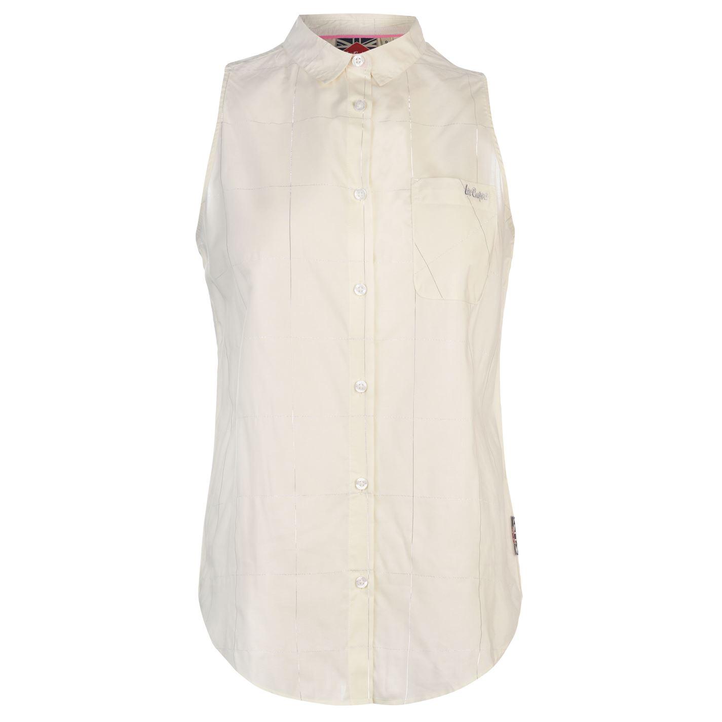 Lee Cooper Sleeveless Shirt Ladies
