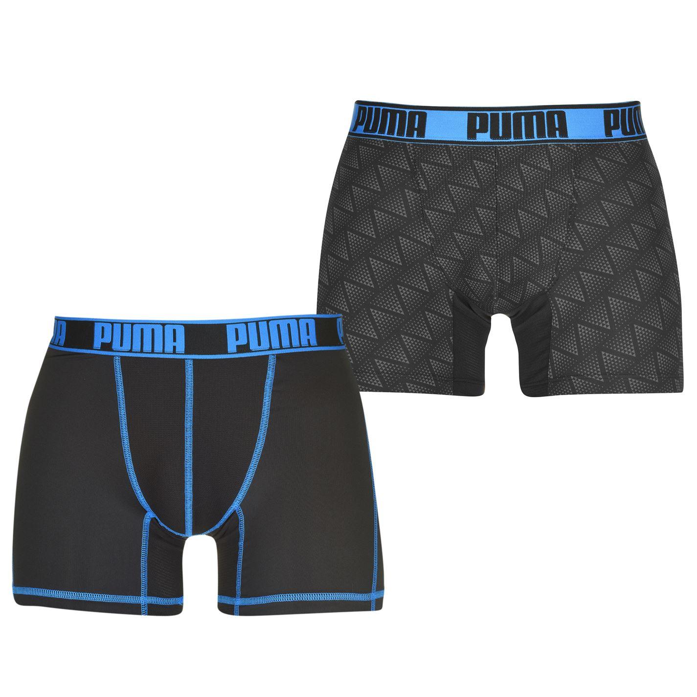 Puma 2 Pack Z Boxers Mens