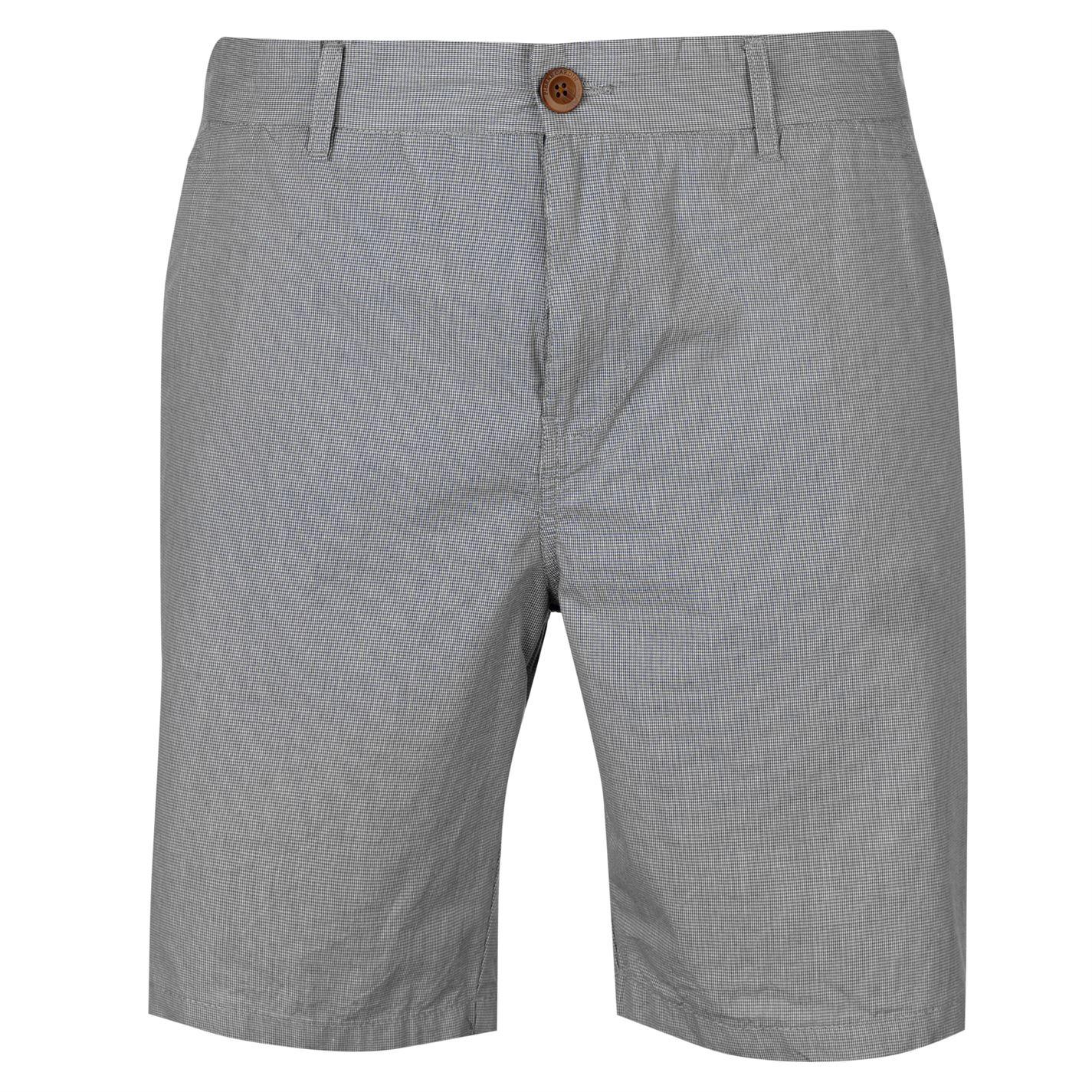 Pierre Cardin Mini Check Shorts Mens