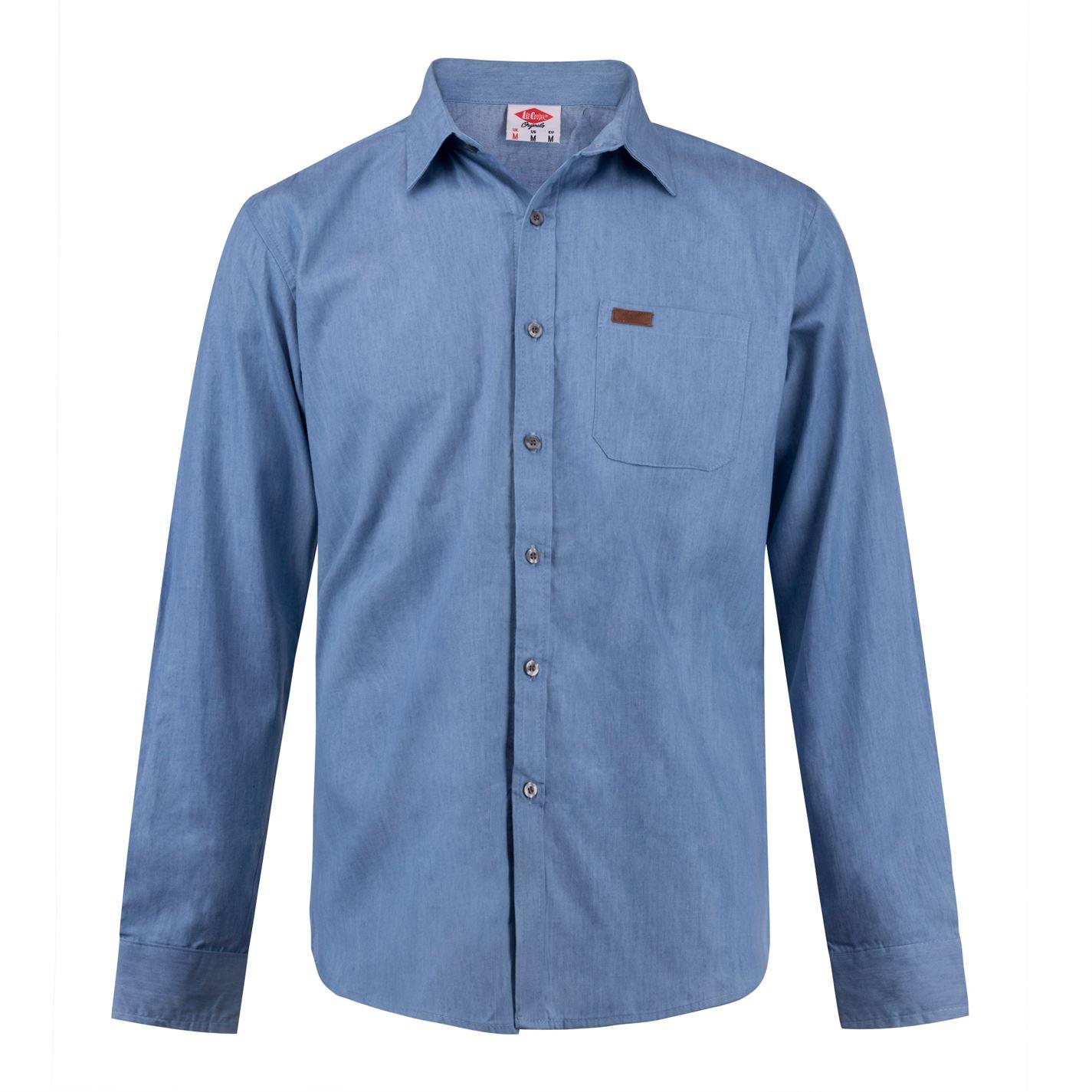 Lee Cooper Casual pánská denimová košile