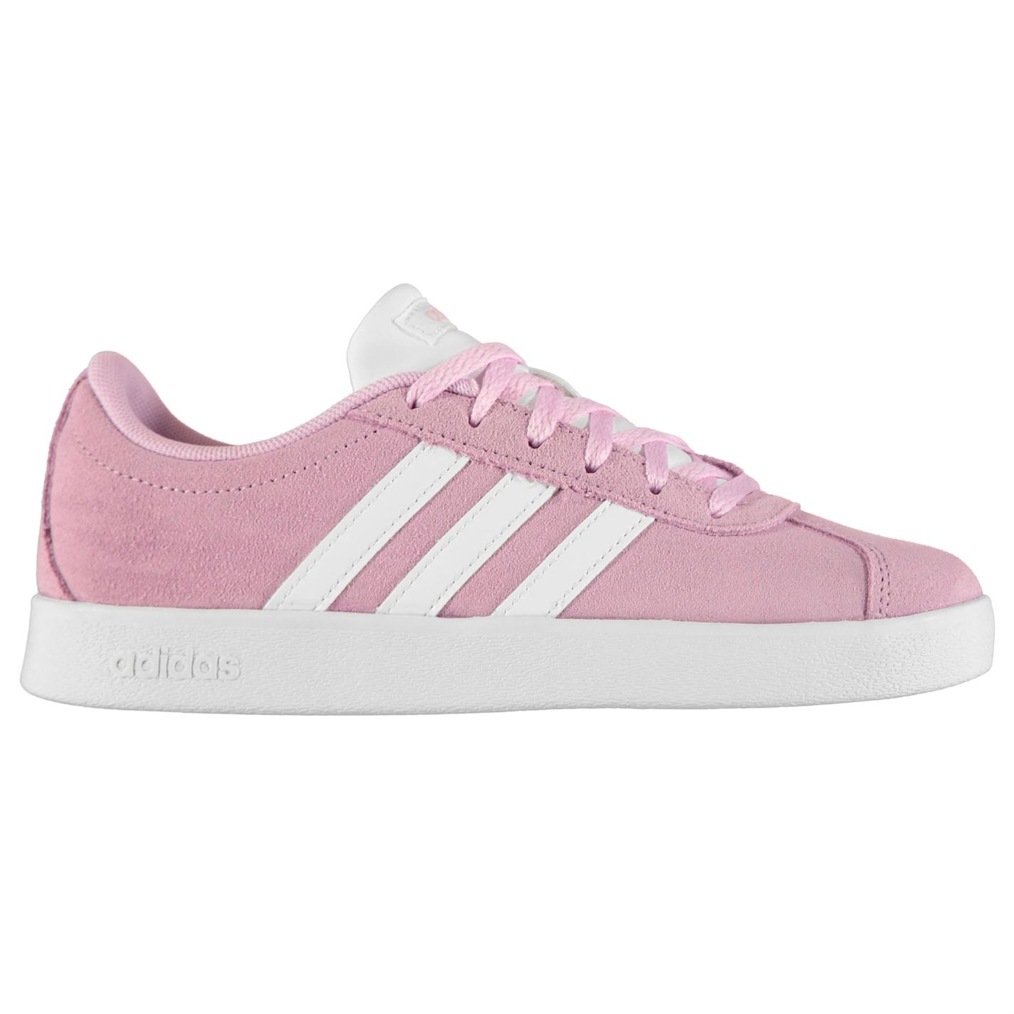 Adidas VL Court Suede Junior Girls Trainers