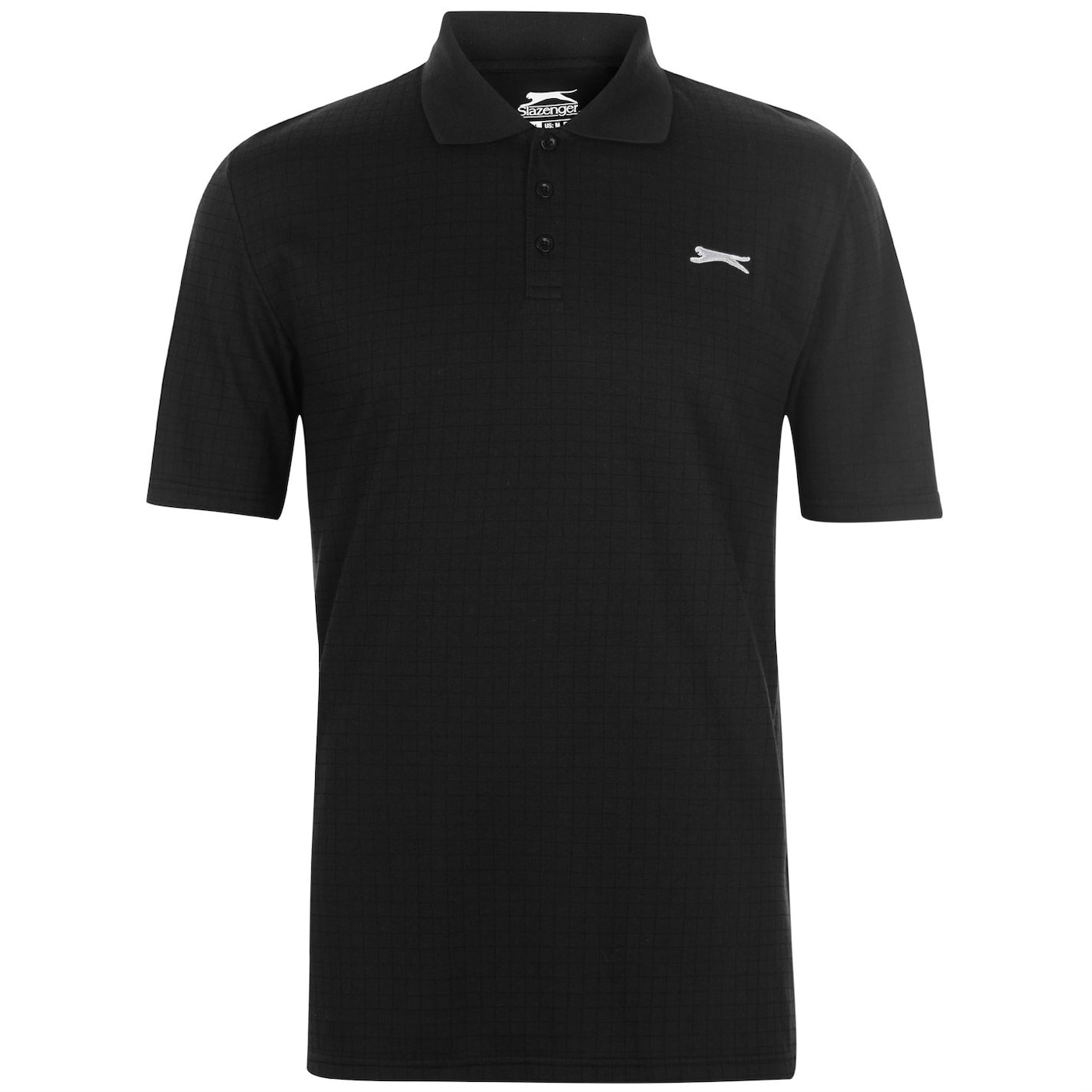 Slazenger Check Golf Polo Mens
