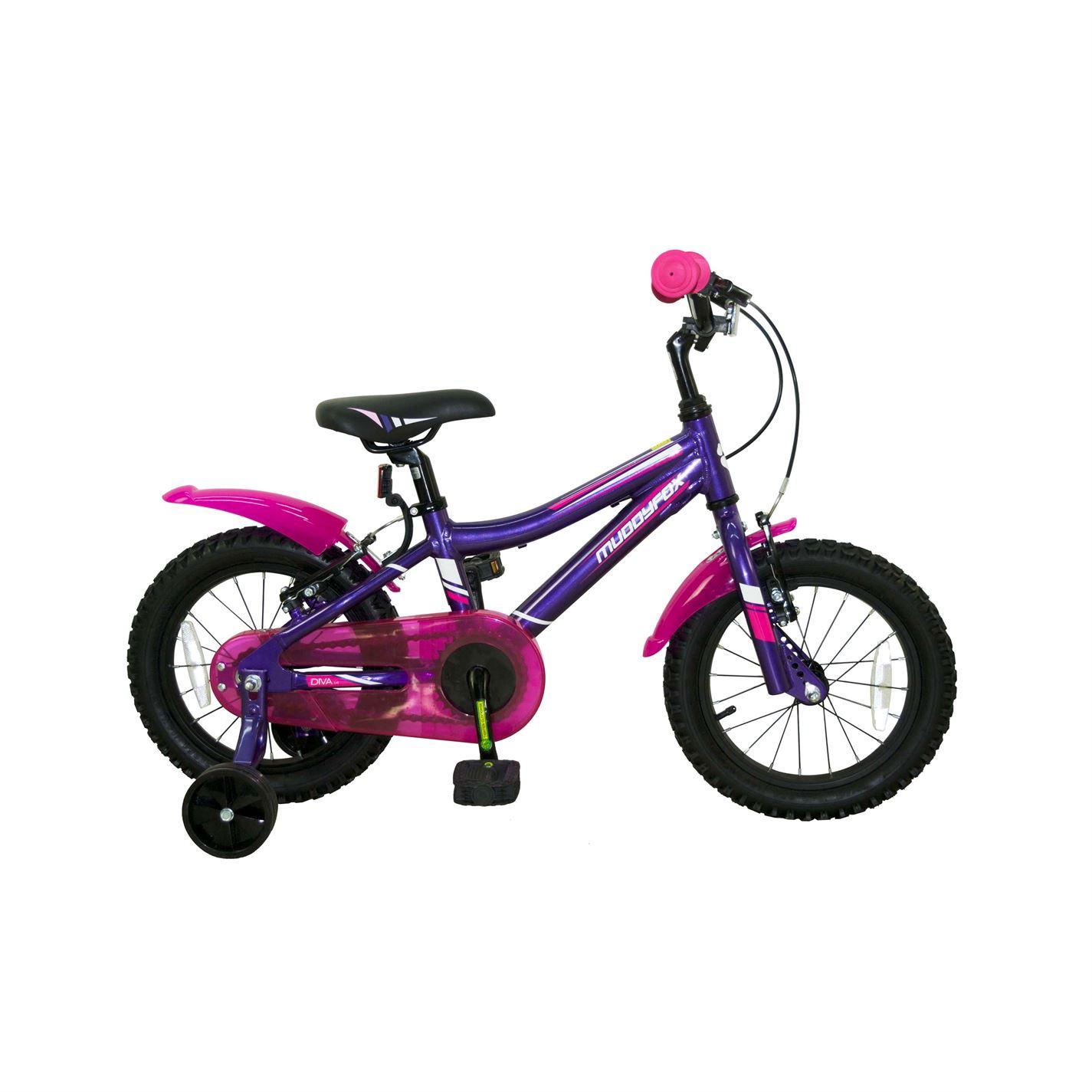 Muddyfox Diva 14 Inch Bike Girls