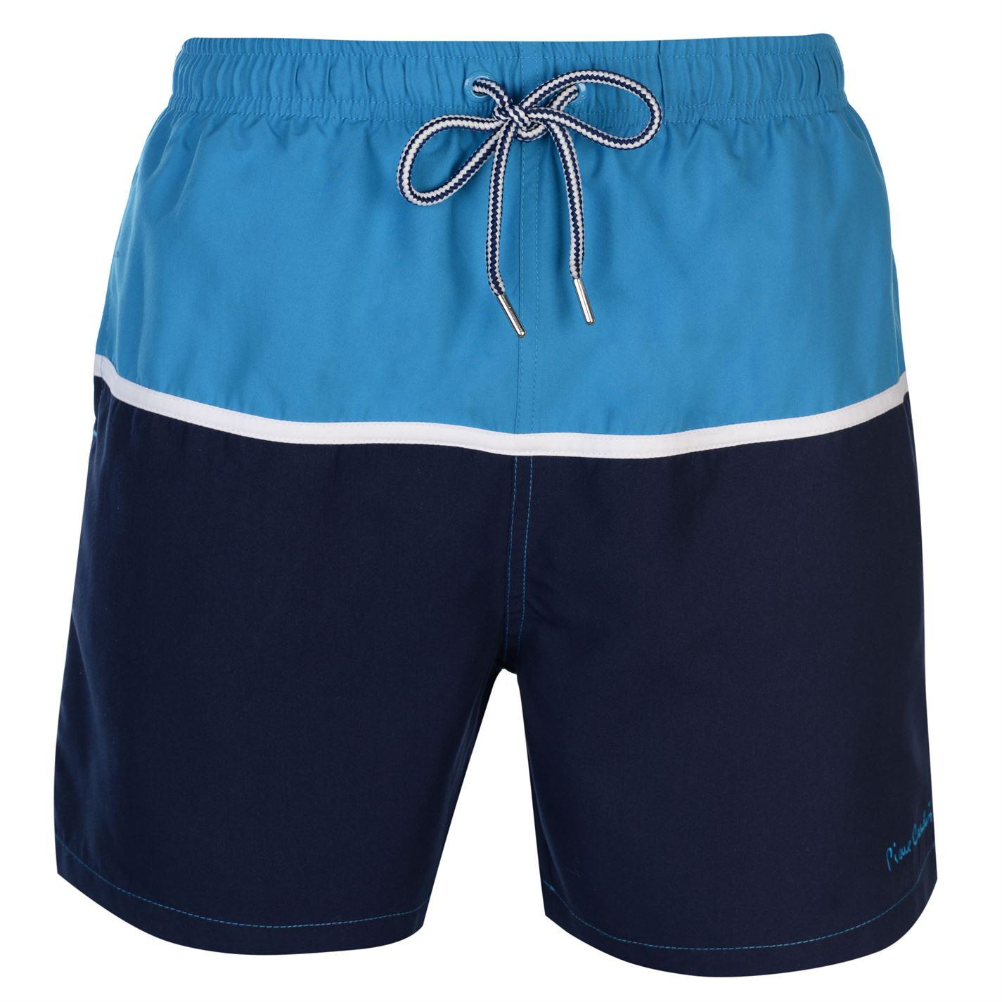 Pierre Cardin Panel Swim Shorts Mens