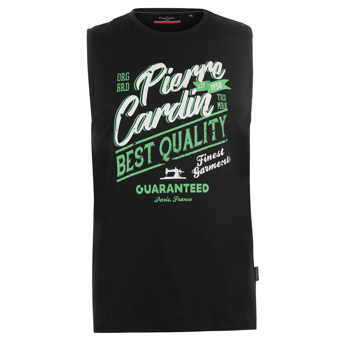 Pierre Cardin Graphic Vest Mens