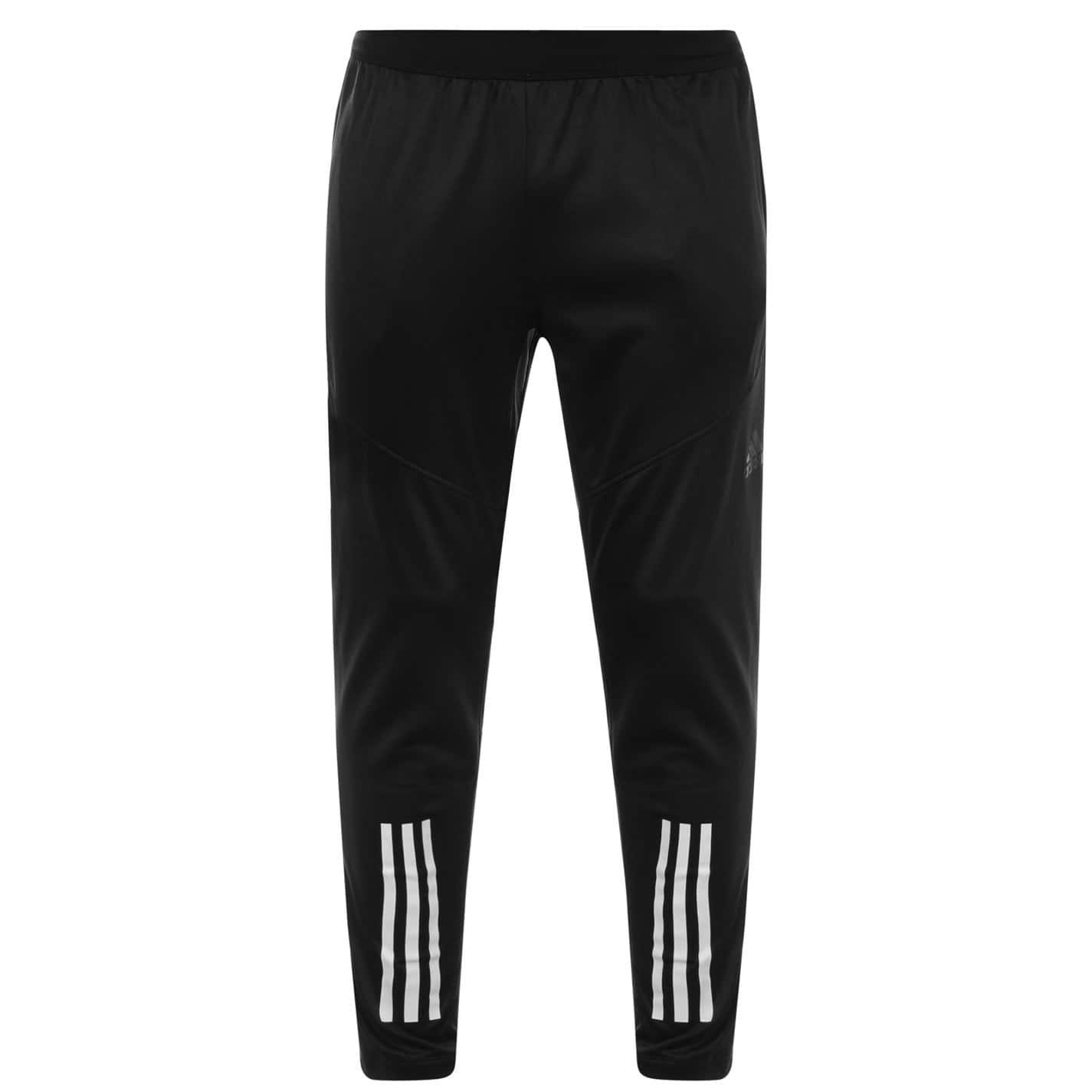 Adidas 3 Stripe Tracksuit Bottoms Mens