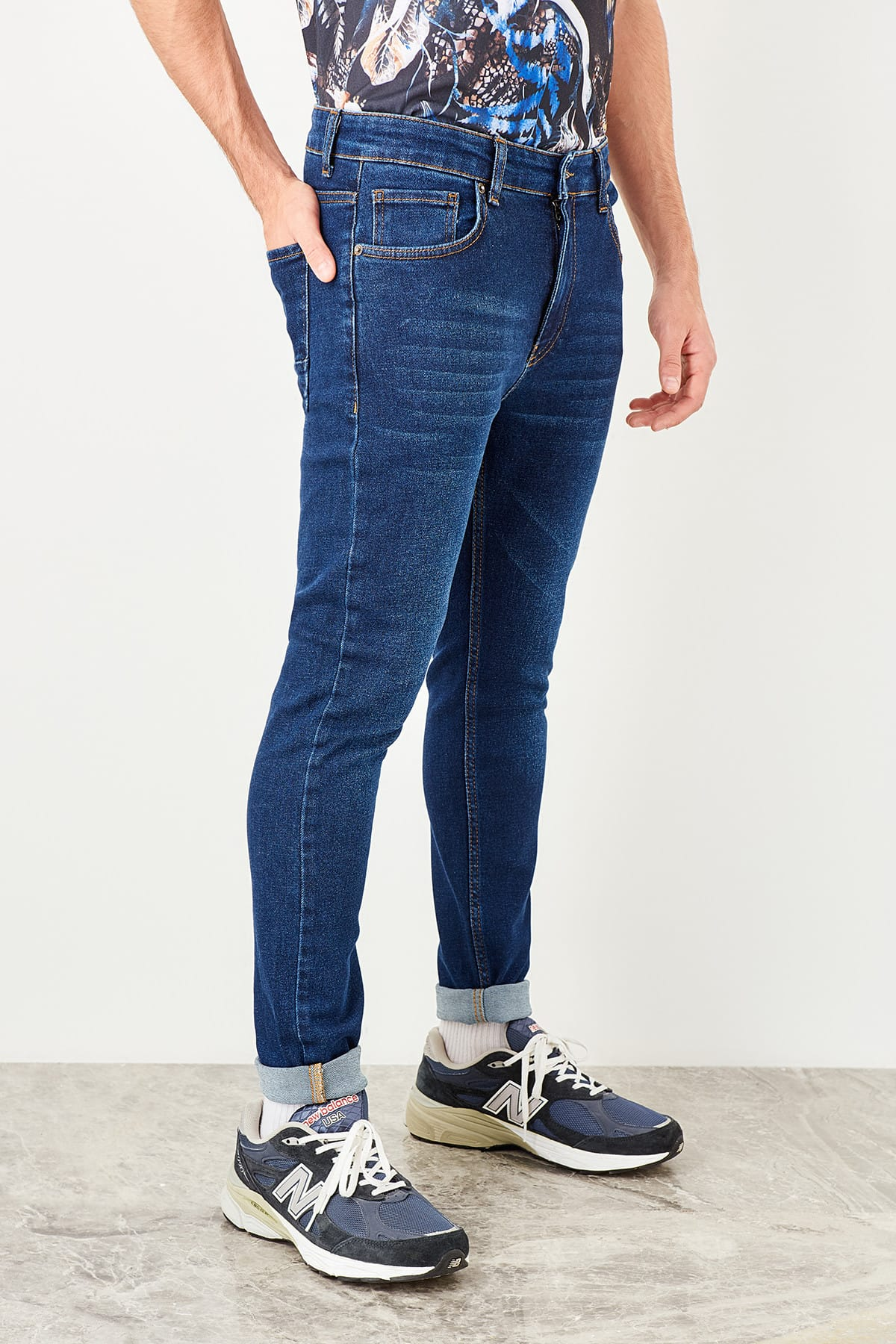 Trendyol Indiana male Skinny Tapared Jeans