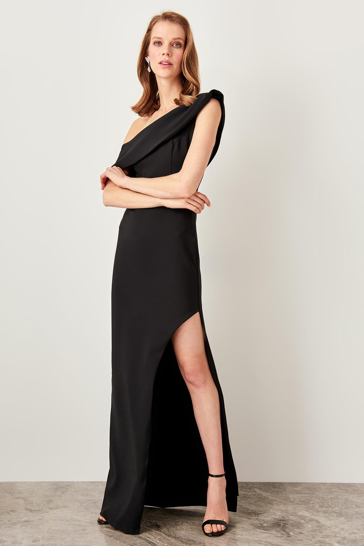 Trendyol dámske šaty cez rameno