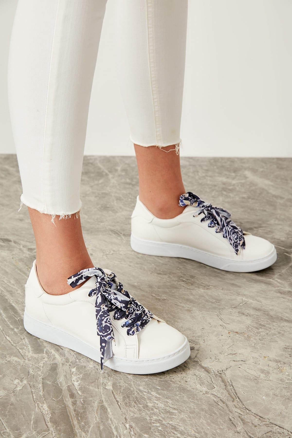 Trendyol Woman In White Sneaker