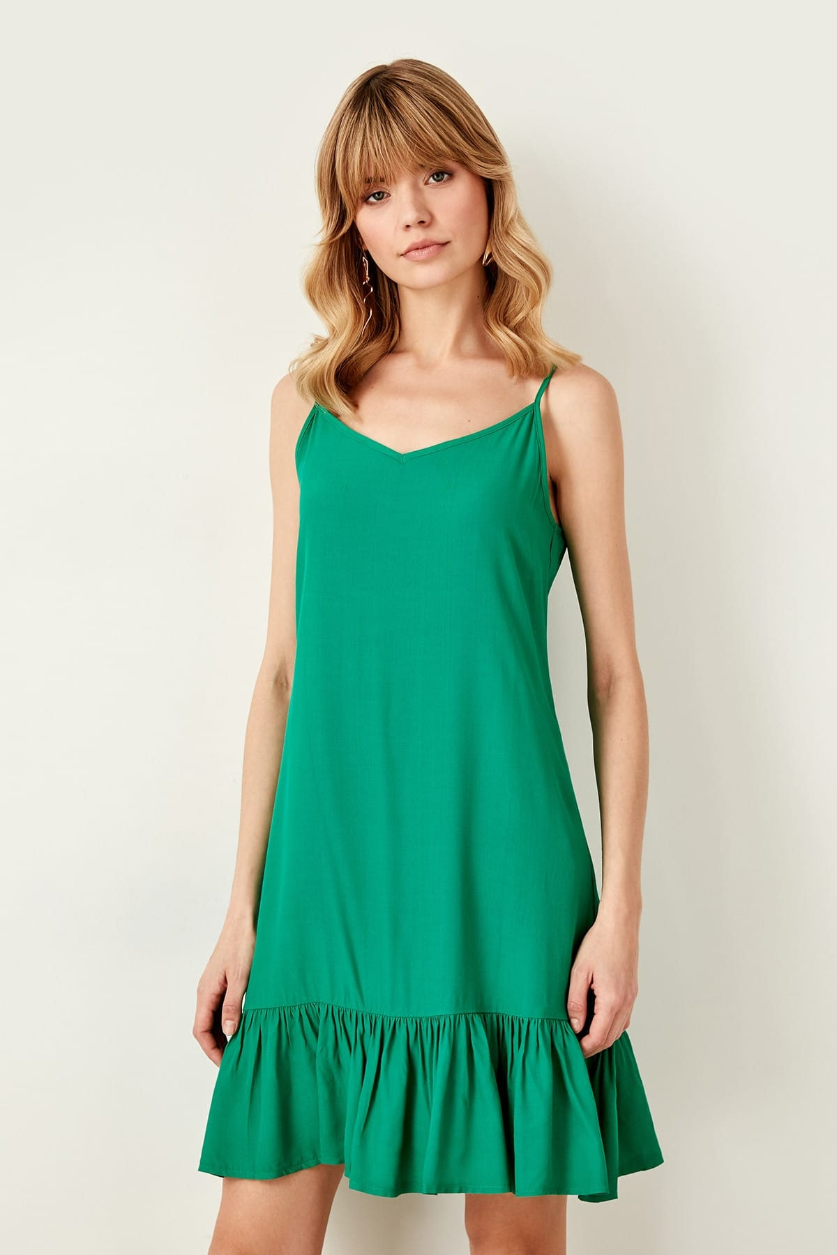Trendyol Green Hand-Wheel Dress