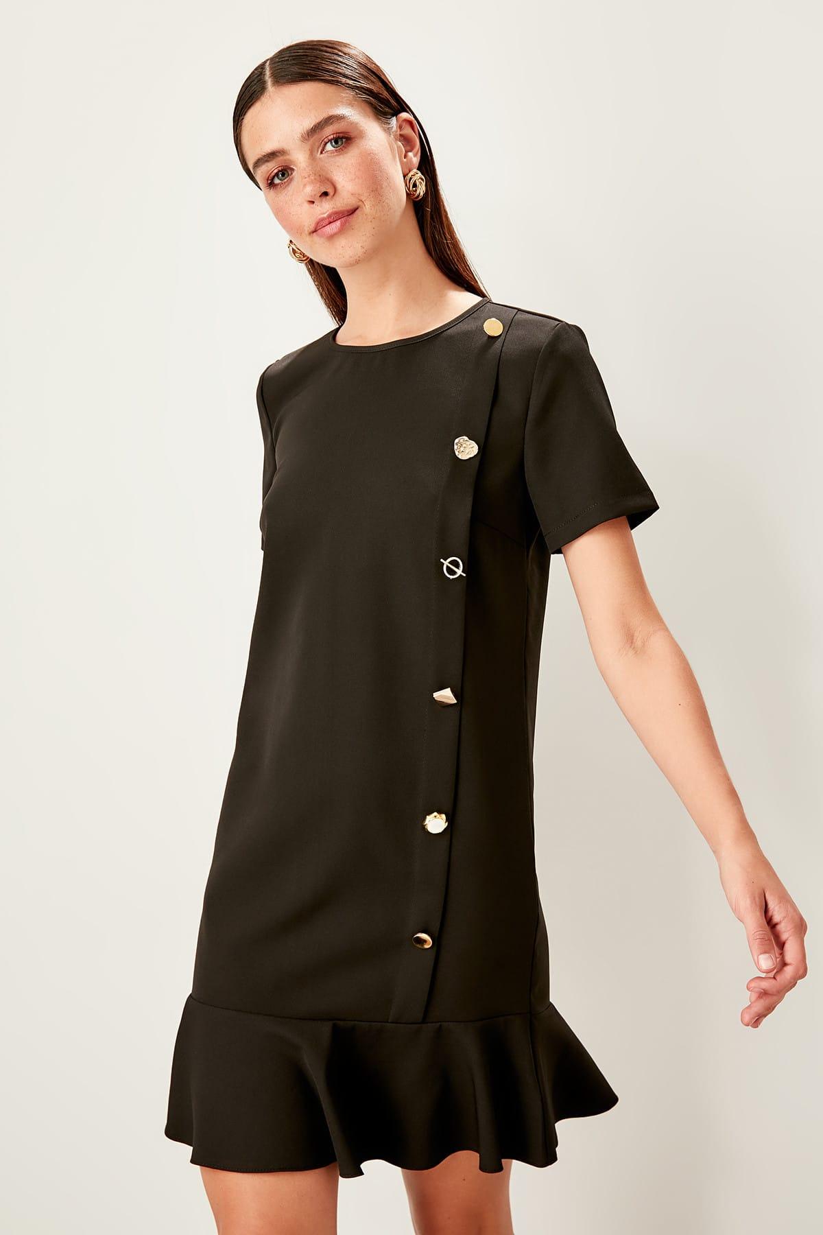 Trendyol dámske čierne šaty