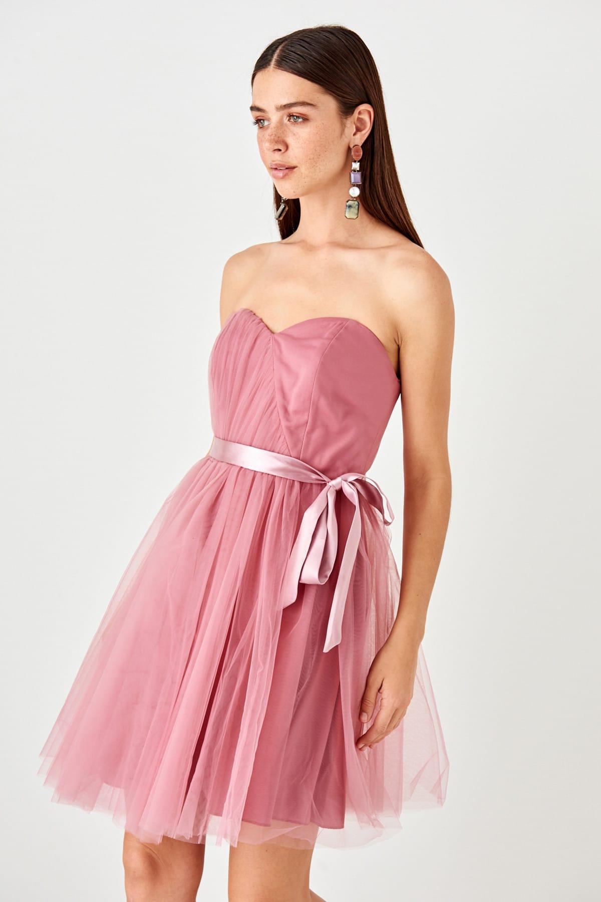 Trendyol dámské tylové šaty