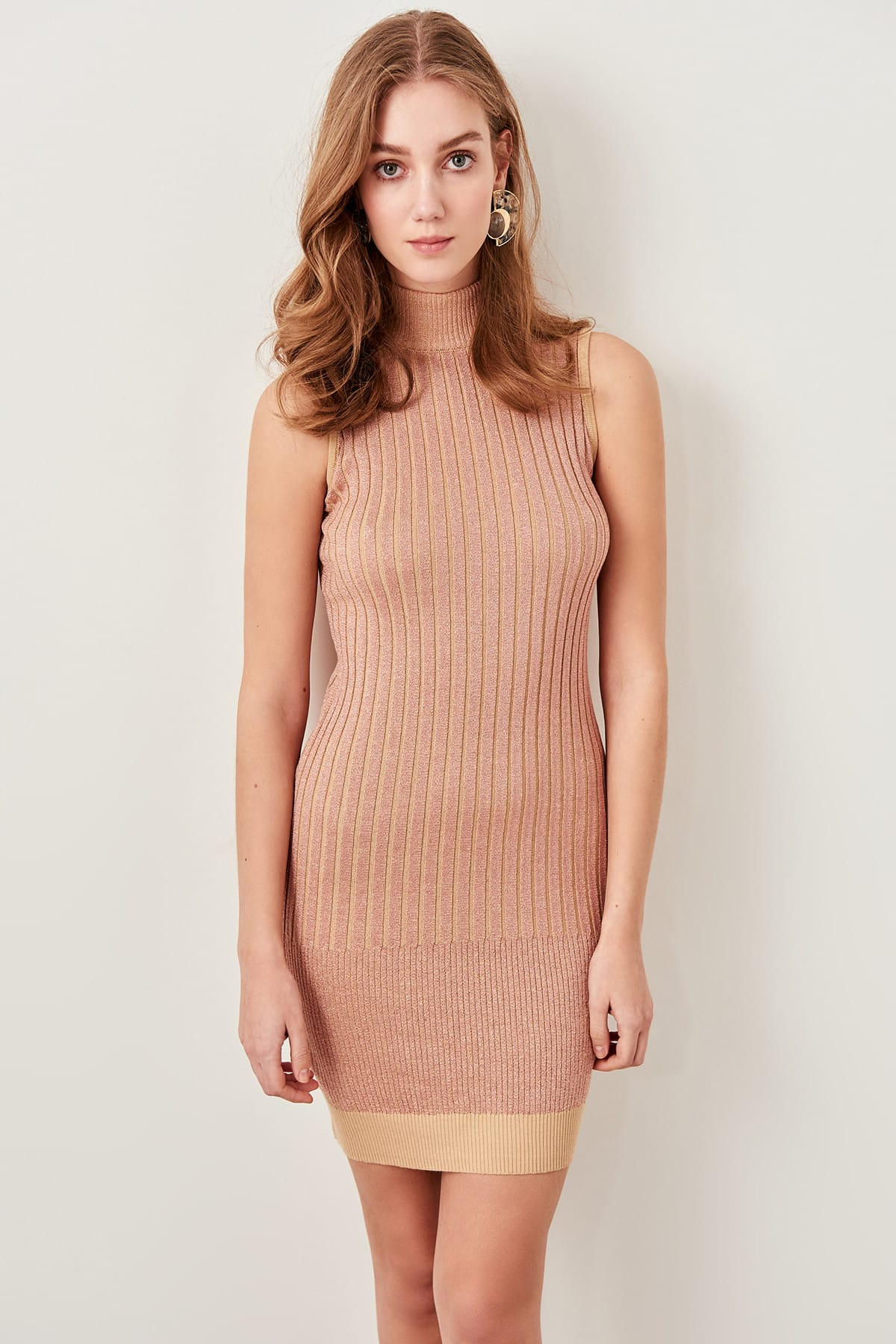 Trendyol dámske šaty s rolákom