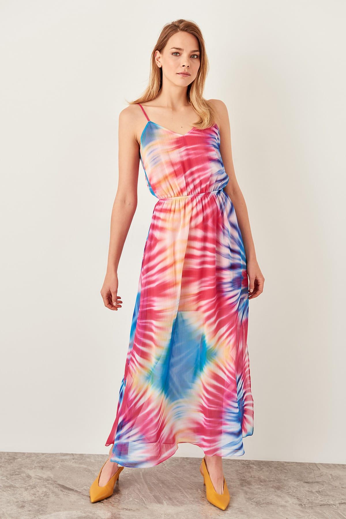 Trendyol dámské batikované šaty