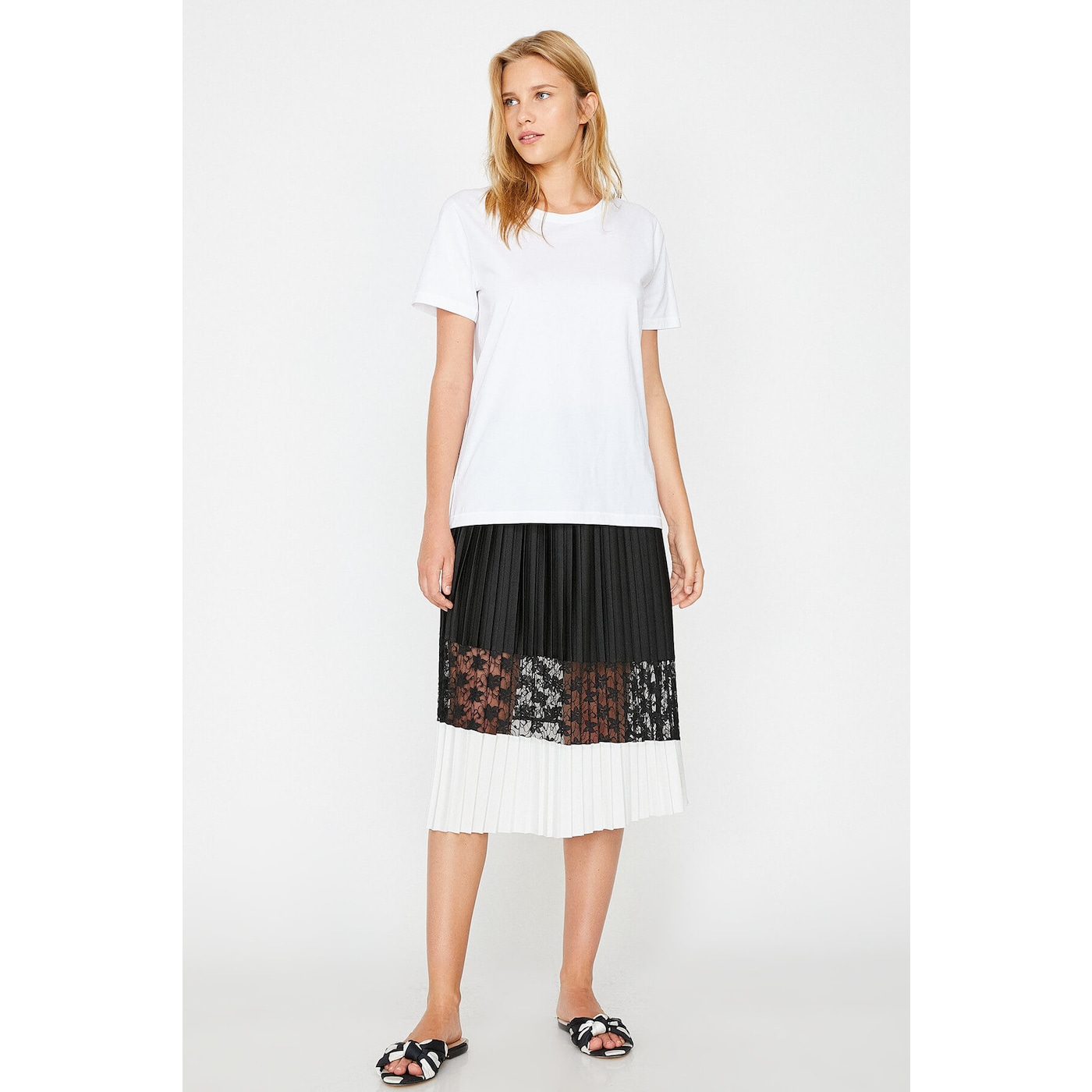 Koton Women Black Skirt