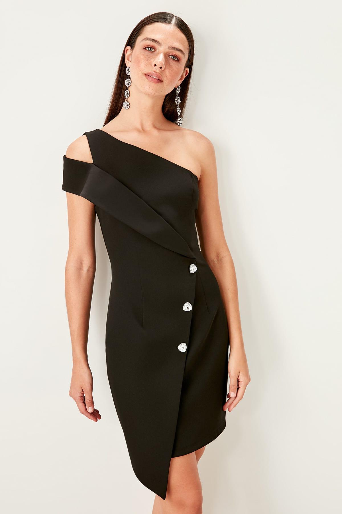 Trendyol dámske šaty na jedno ramienko