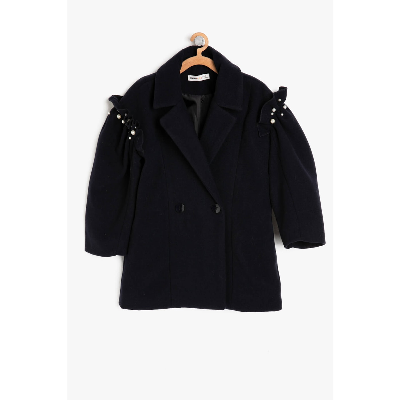 Koton Button Detail Coat
