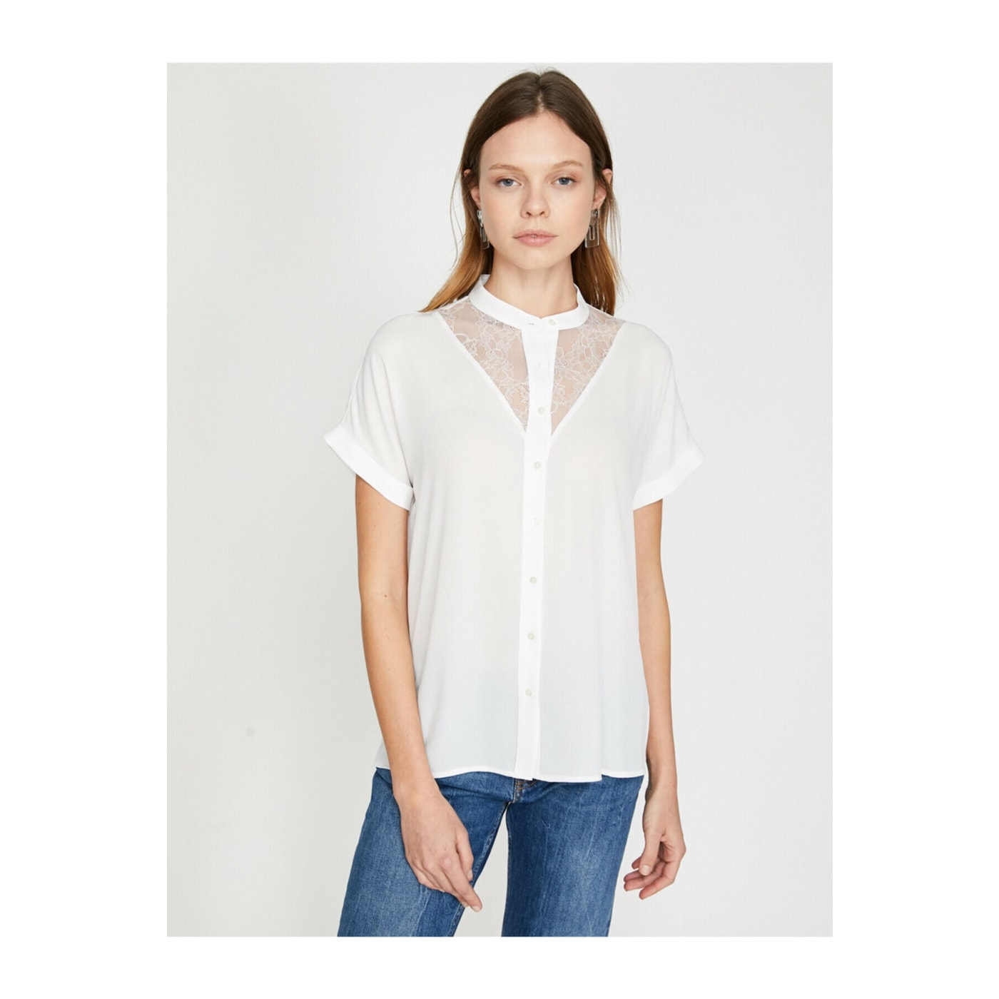 Koton Women White Blouse