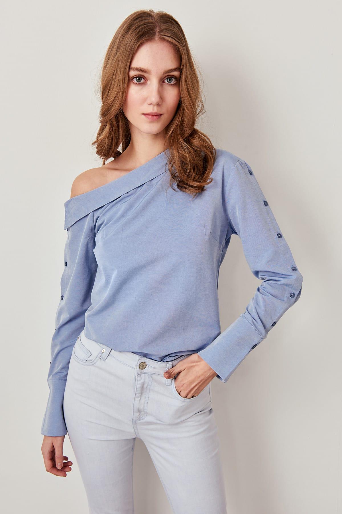 Trendyol Blue K Sarah