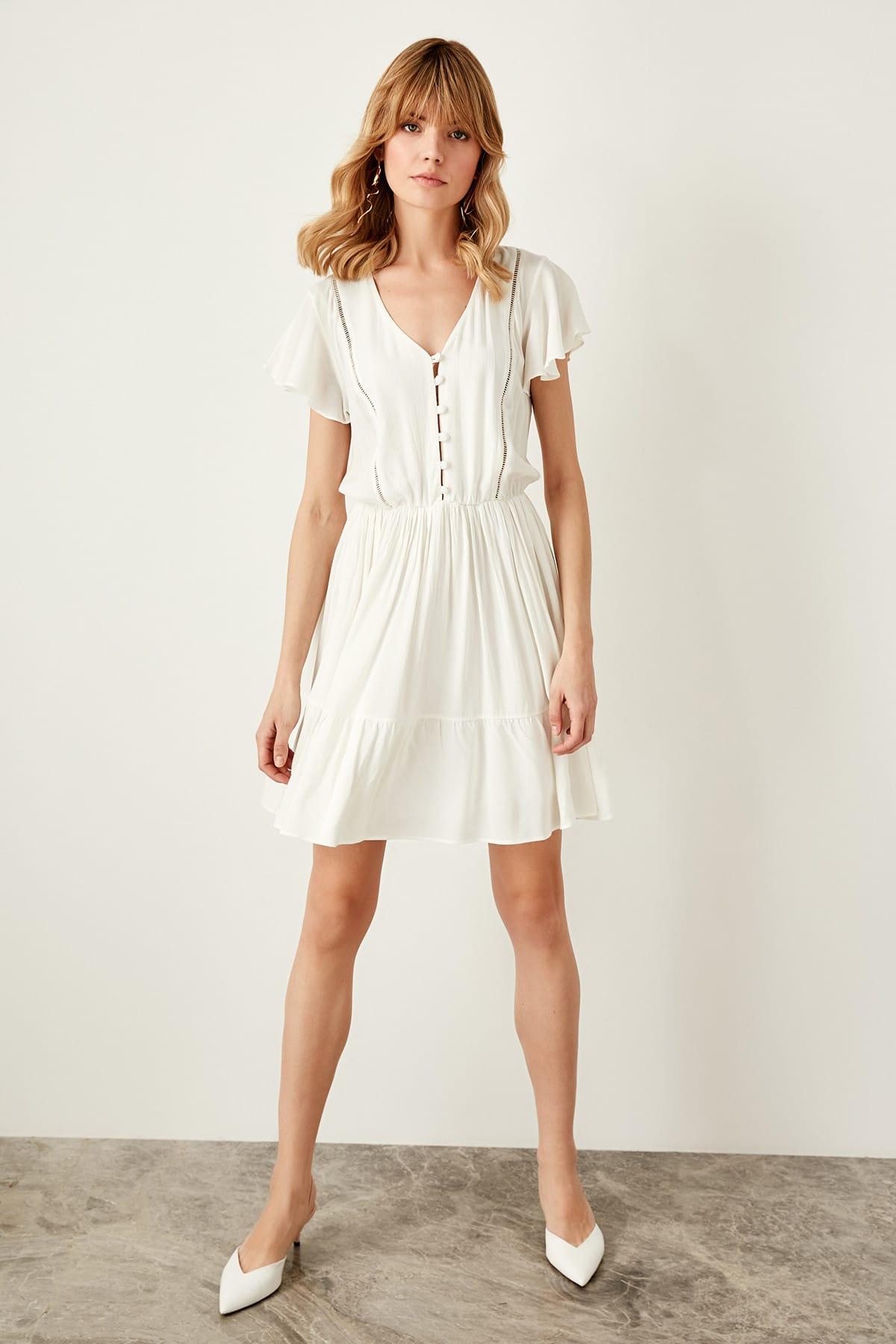 Trendyol dámske šaty s gombíky