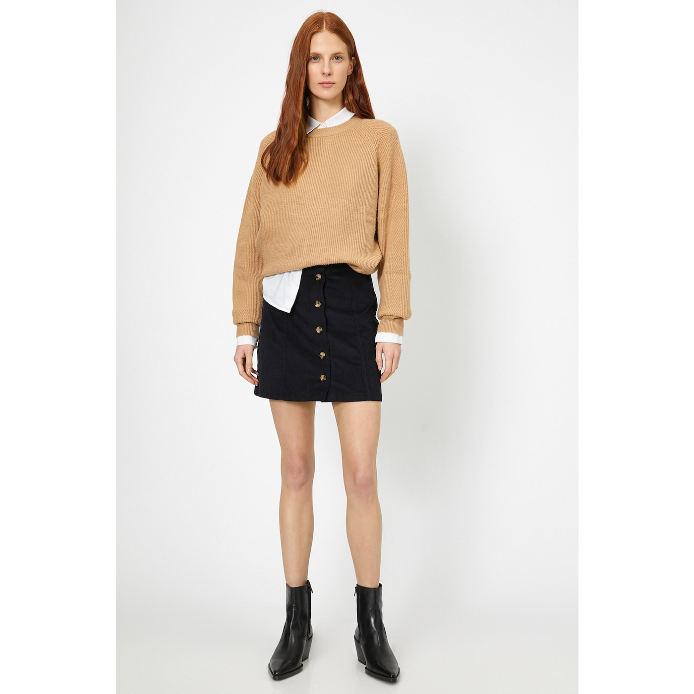 Koton Women Navy Blue Skirt